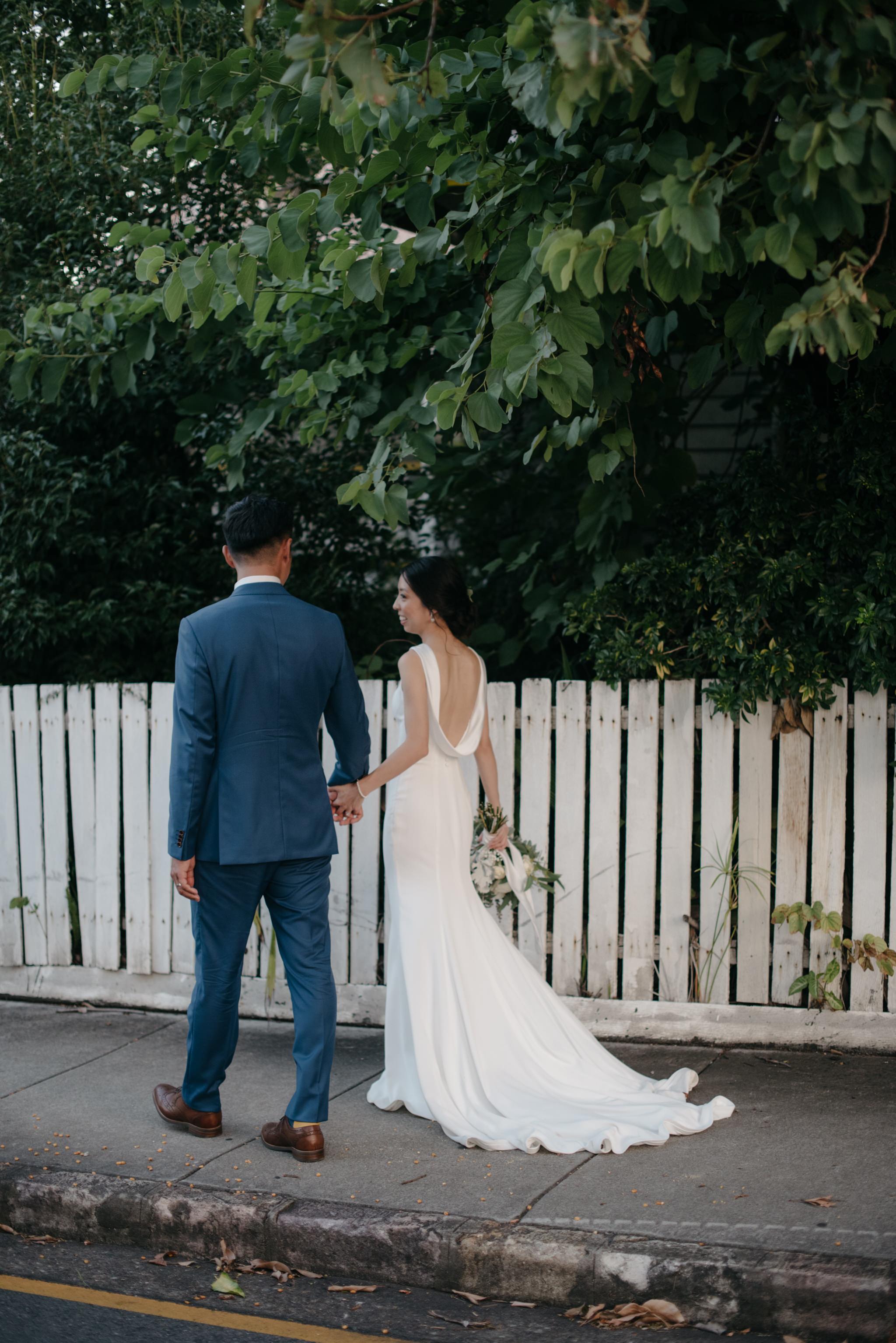 Bride and groom, Howard Smith Wharves, Brisbane Wedding, Ephemeral Creative