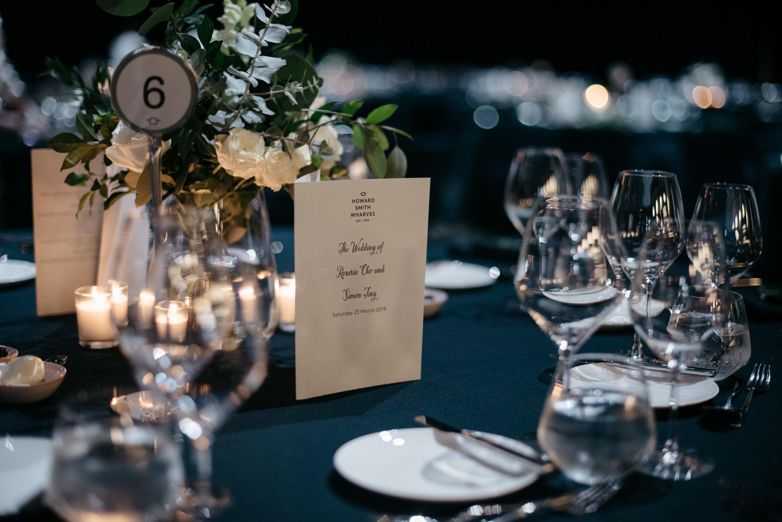 Howard Smith Wharves wedding reception, Brisbane Wedding, Ephemeral Creative
