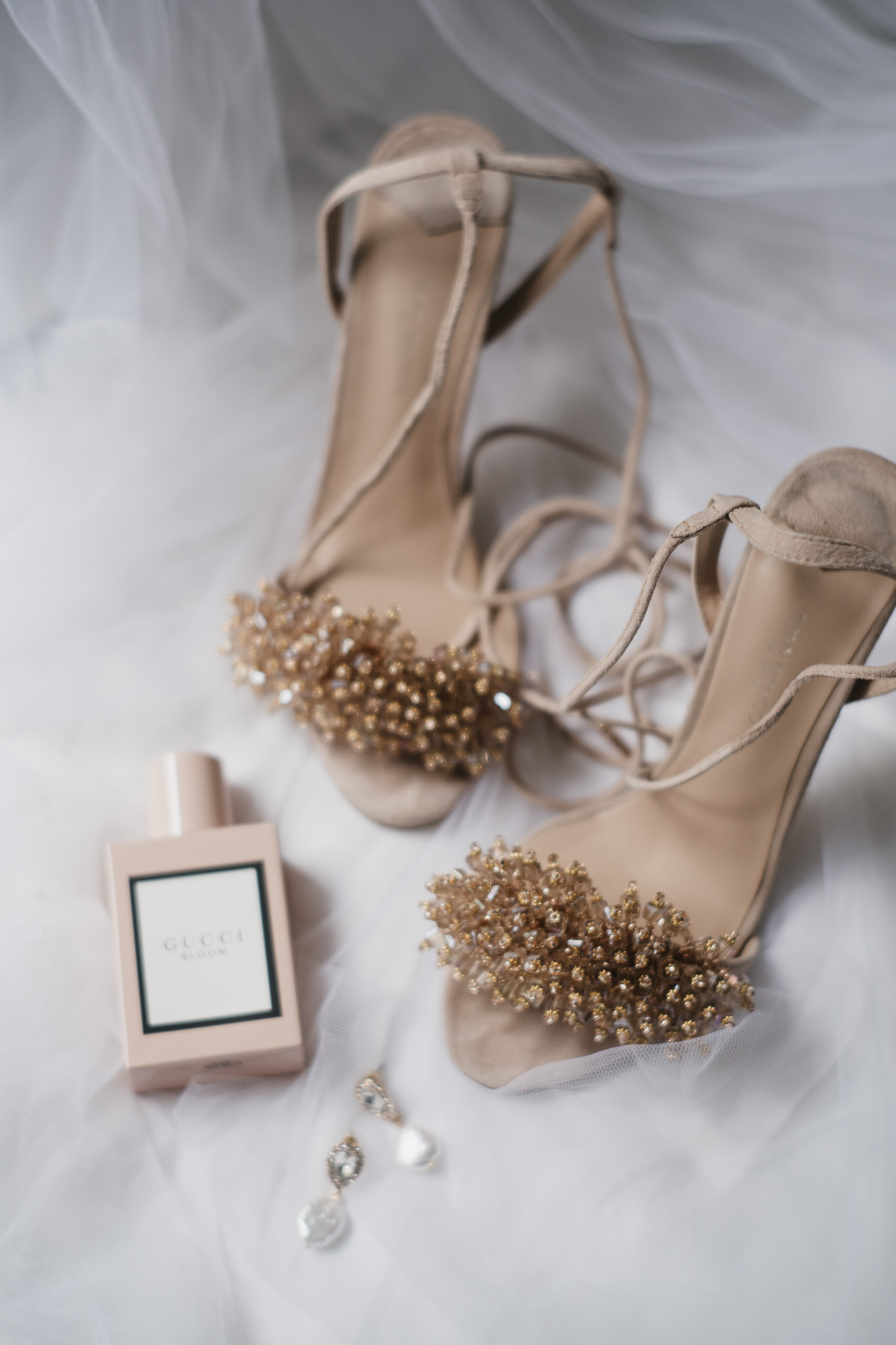 Jacquie and Jon Wedding EPHEMERAL CREATIVE bridal shoes gucci