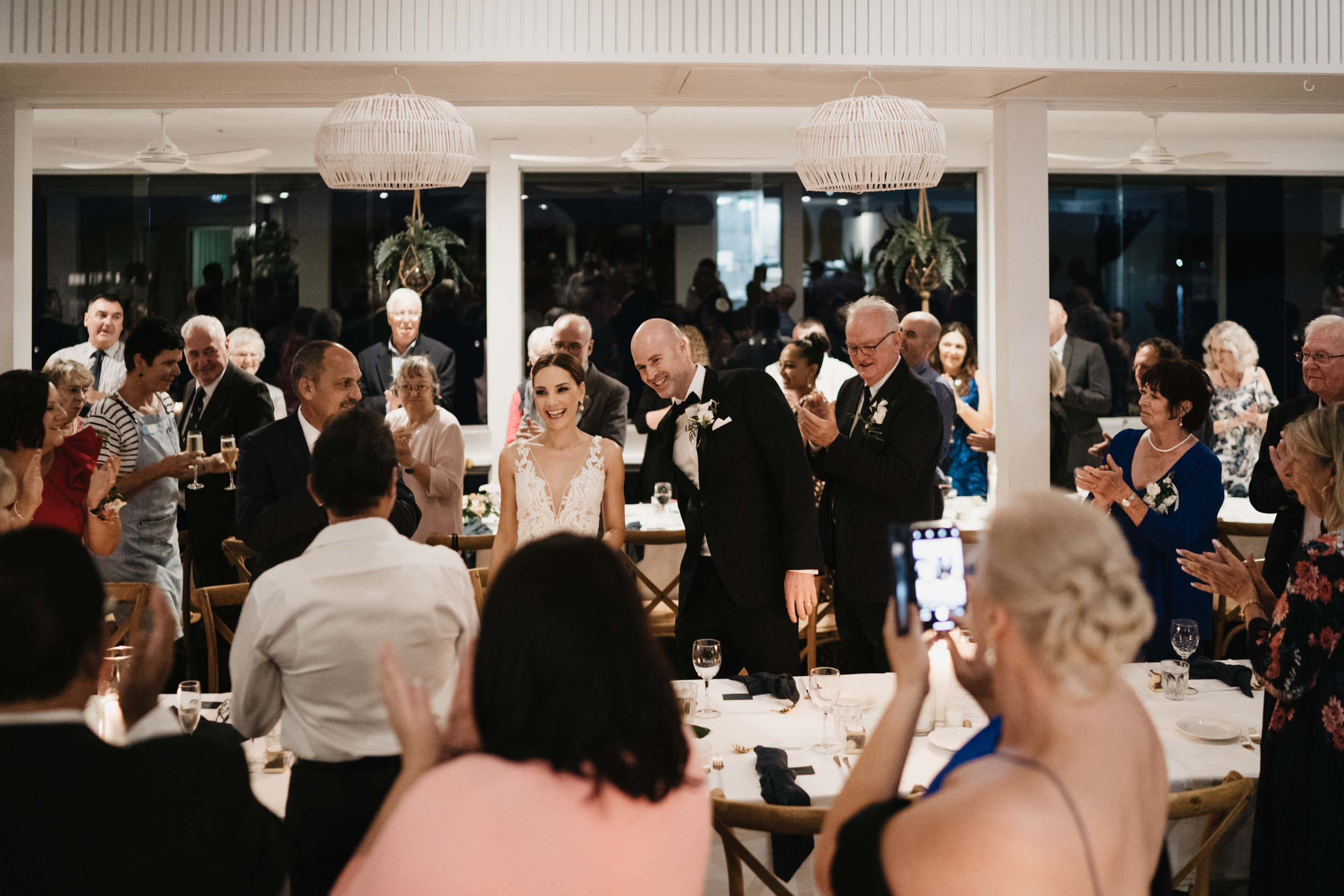 Jacquie and Jon Wedding EPHEMERAL CREATIVE Noosa Boathouse wedding reception