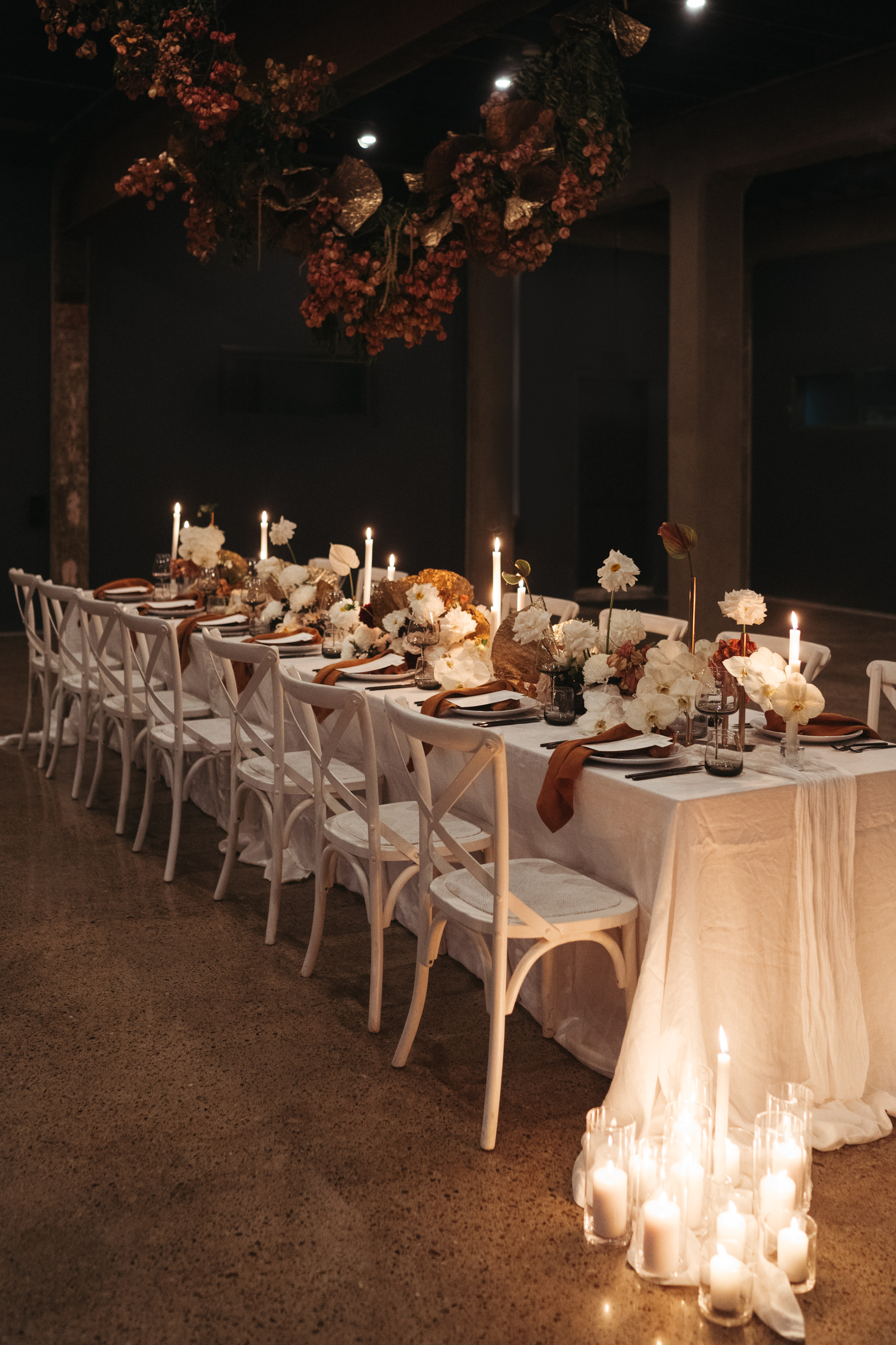 The Lushington Brisbane - Ephemeral Creative - Akirah Collective - Autumn wedding table styling