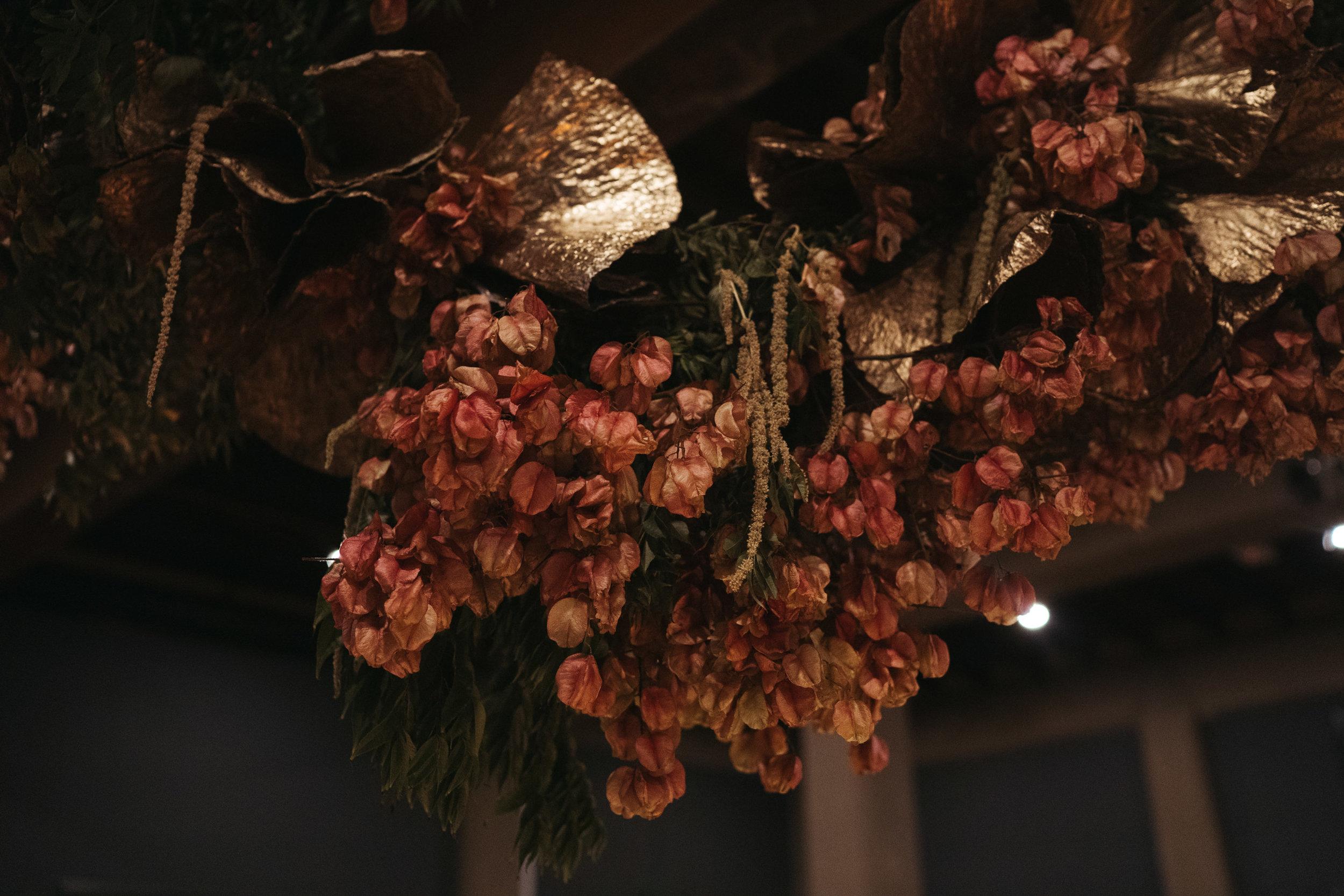 The Lushington Brisbane - Ephemeral Creative - Akirah Collective floral hanging installation
