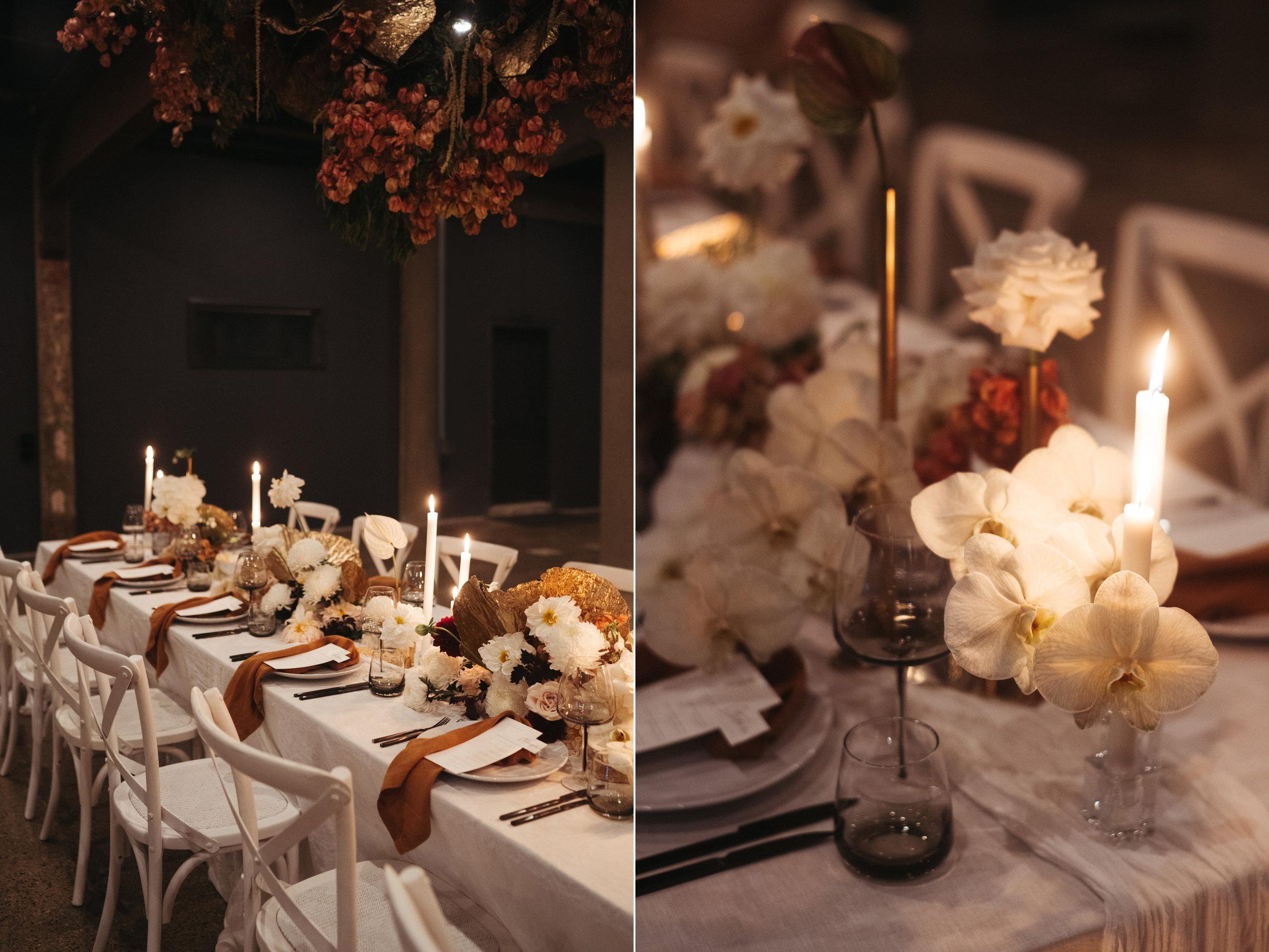 The Lushington Brisbane - Ephemeral Creative - Akirah Collective - Autumn wedding