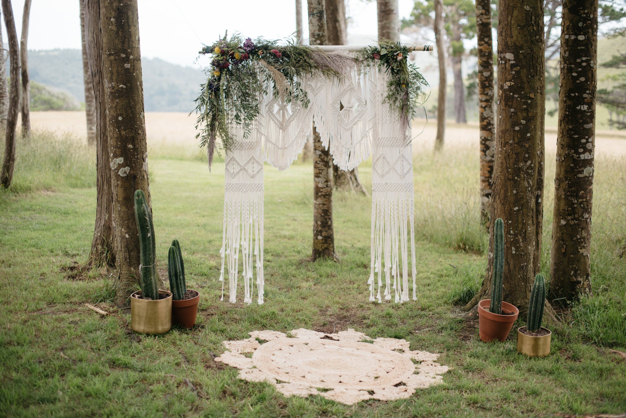 Josie and Ryan EPHEMERAL CREATIVE Jonkers Farm New Zealand Wedding mexican ceremony