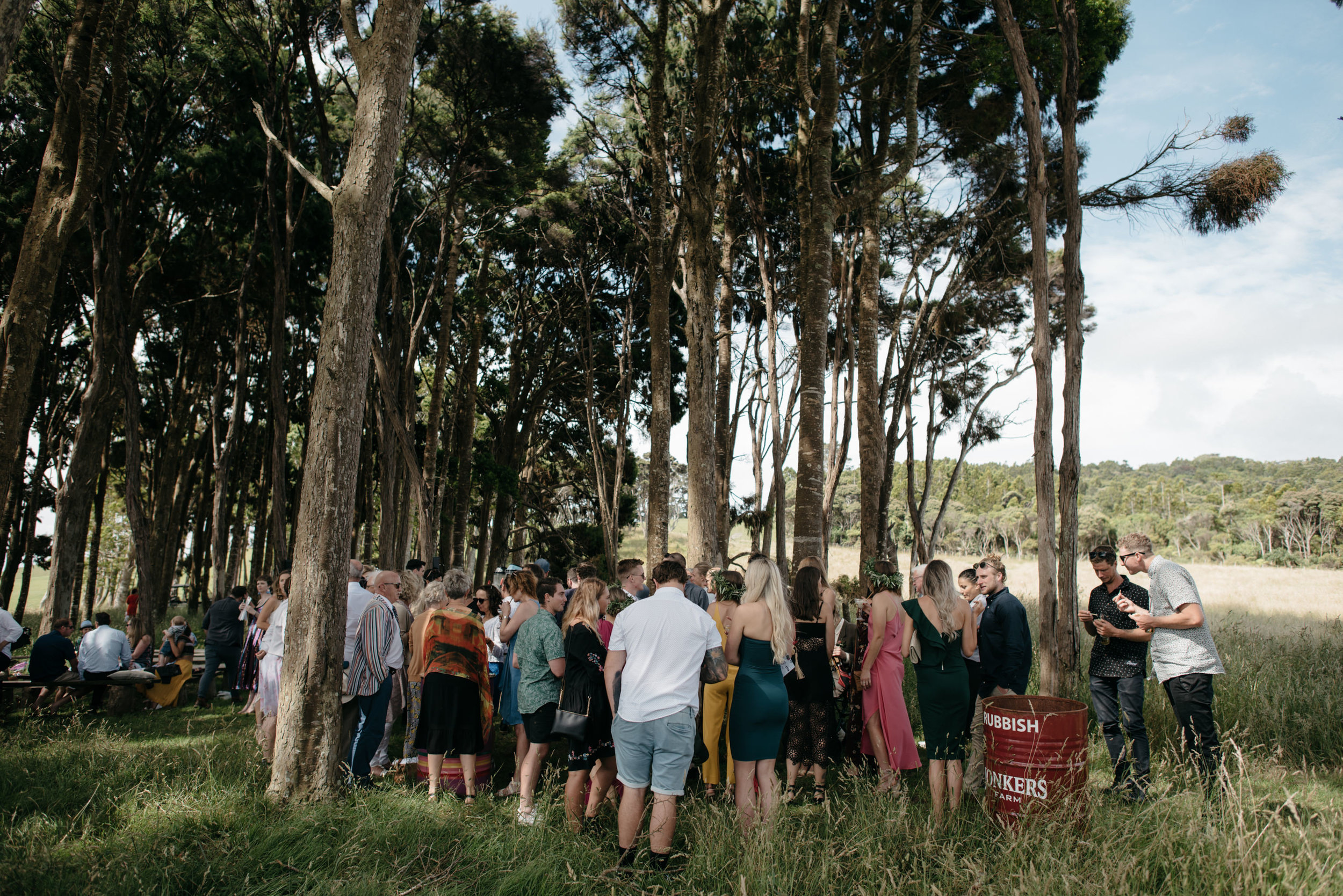 Josie and Ryan EPHEMERAL CREATIVE Jonkers Farm New Zealand Wedding forest ceremony