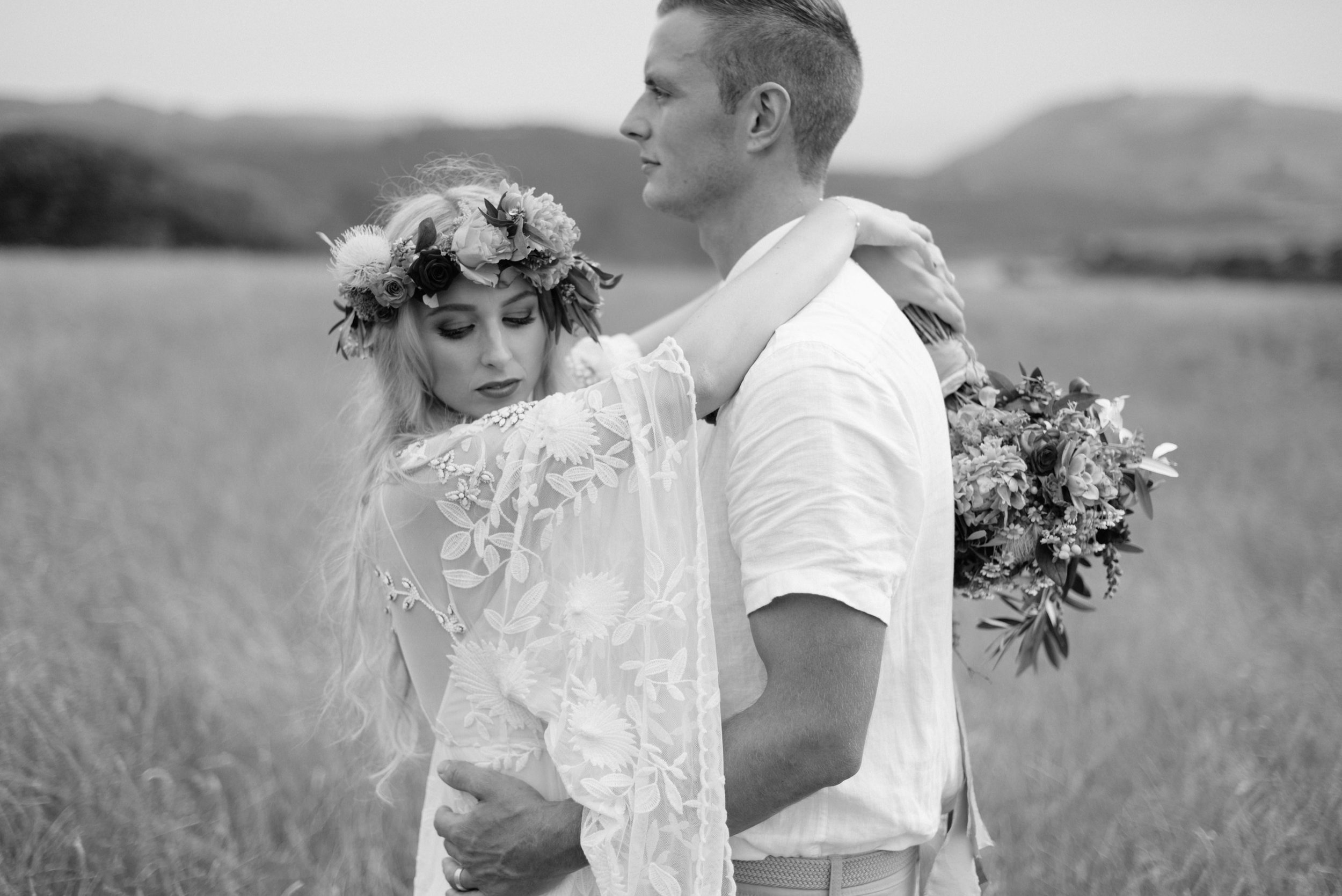 Josie and Ryan EPHEMERAL CREATIVE Jonkers Farm New Zealand Wedding boho bride