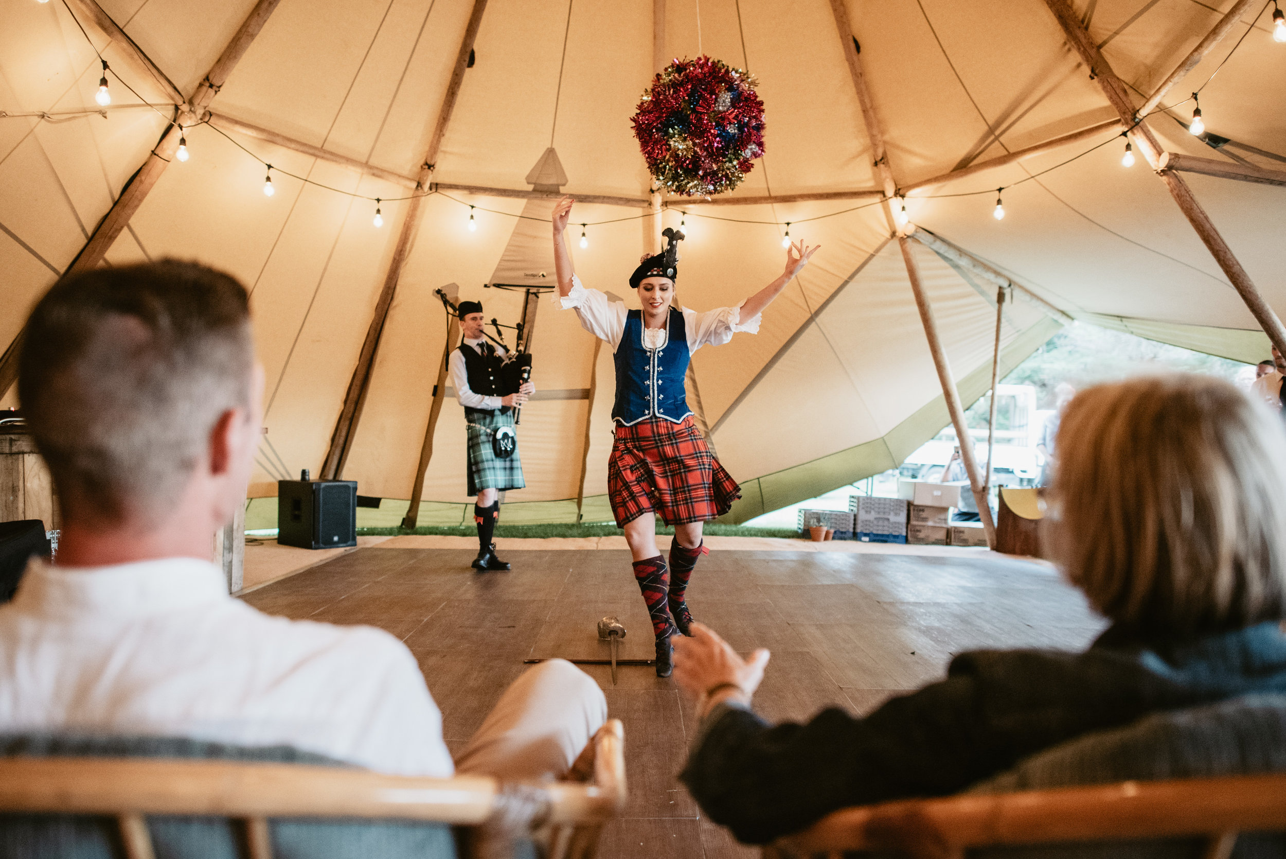 Josie and Ryan EPHEMERAL CREATIVE New Zealand Wedding Scottish highland sword dance