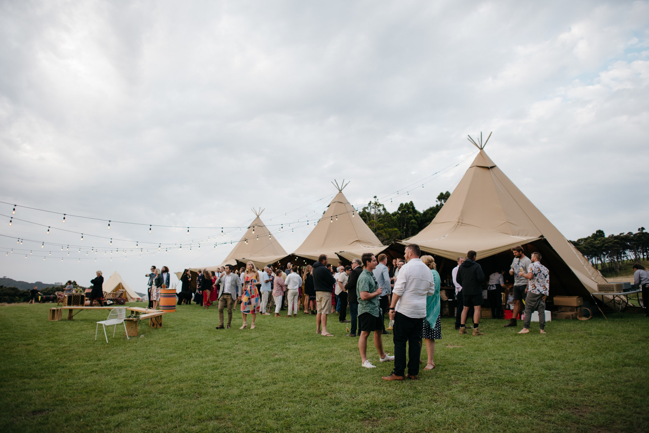Josie and Ryan EPHEMERAL CREATIVE New Zealand Wedding teepee tents