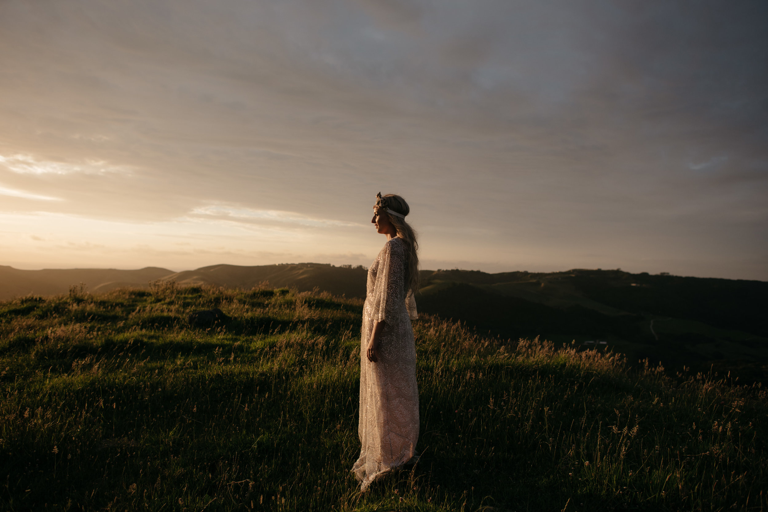 Josie and Ryan EPHEMERAL CREATIVE Jonkers Farm New Zealand Wedding bride portrait