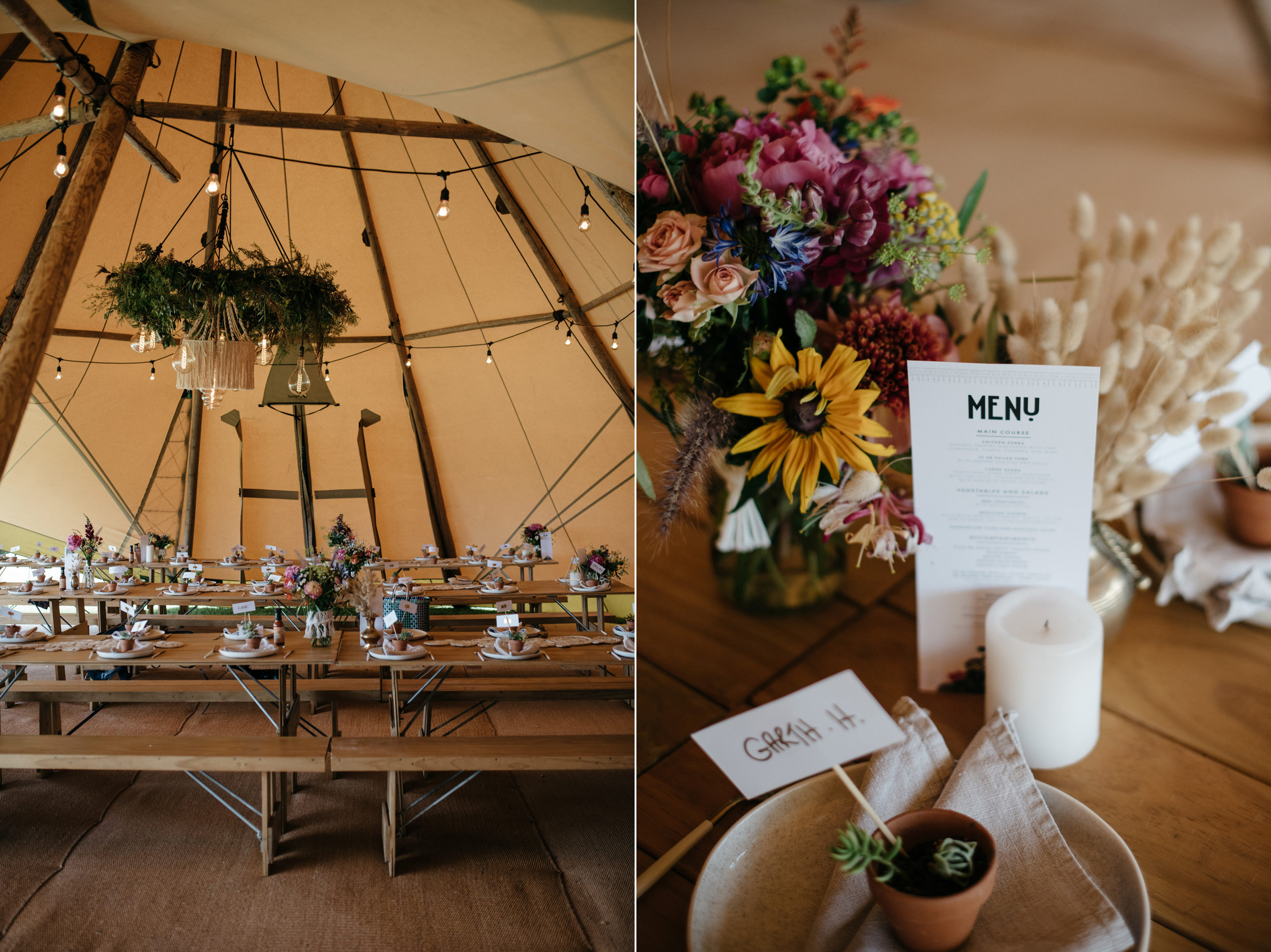 Josie and Ryan EPHEMERAL CREATIVE Jonkers Farm New Zealand Wedding Mexican reception styling