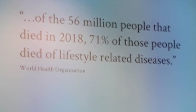 And what is the biggest contributing factor to lifestyle disease. ......STRESS.  Take ownership of your emotions now.  Only you can do this.  #emotionalanatomy #disease #ownership #death #yourchoice #stress