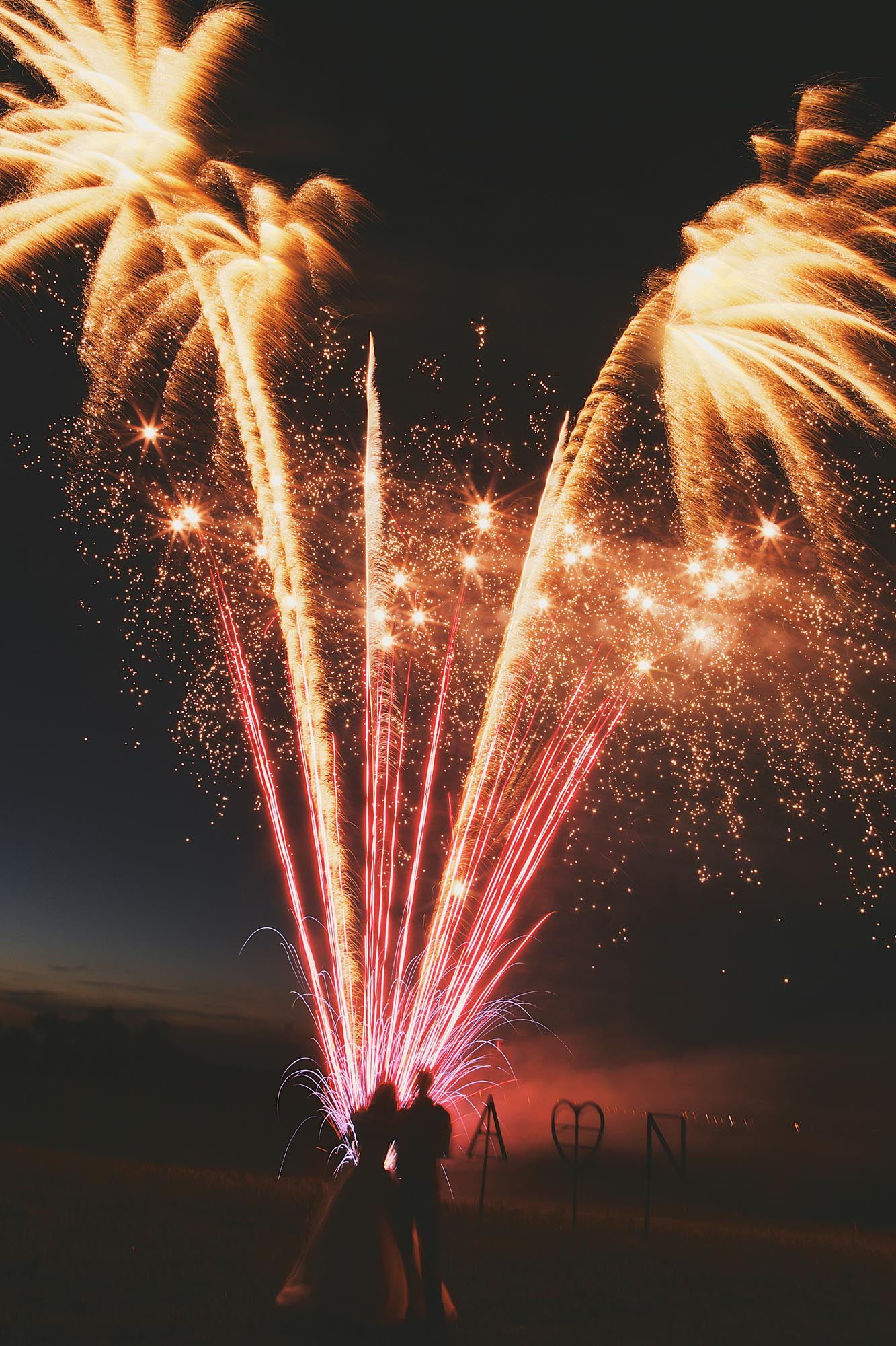 Fireworks Display at Huntstile Farm
