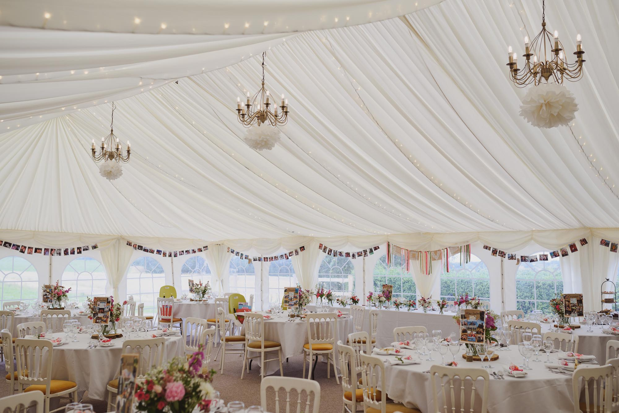 Helen & Gareth Wedding Reception at Huntstile Farm