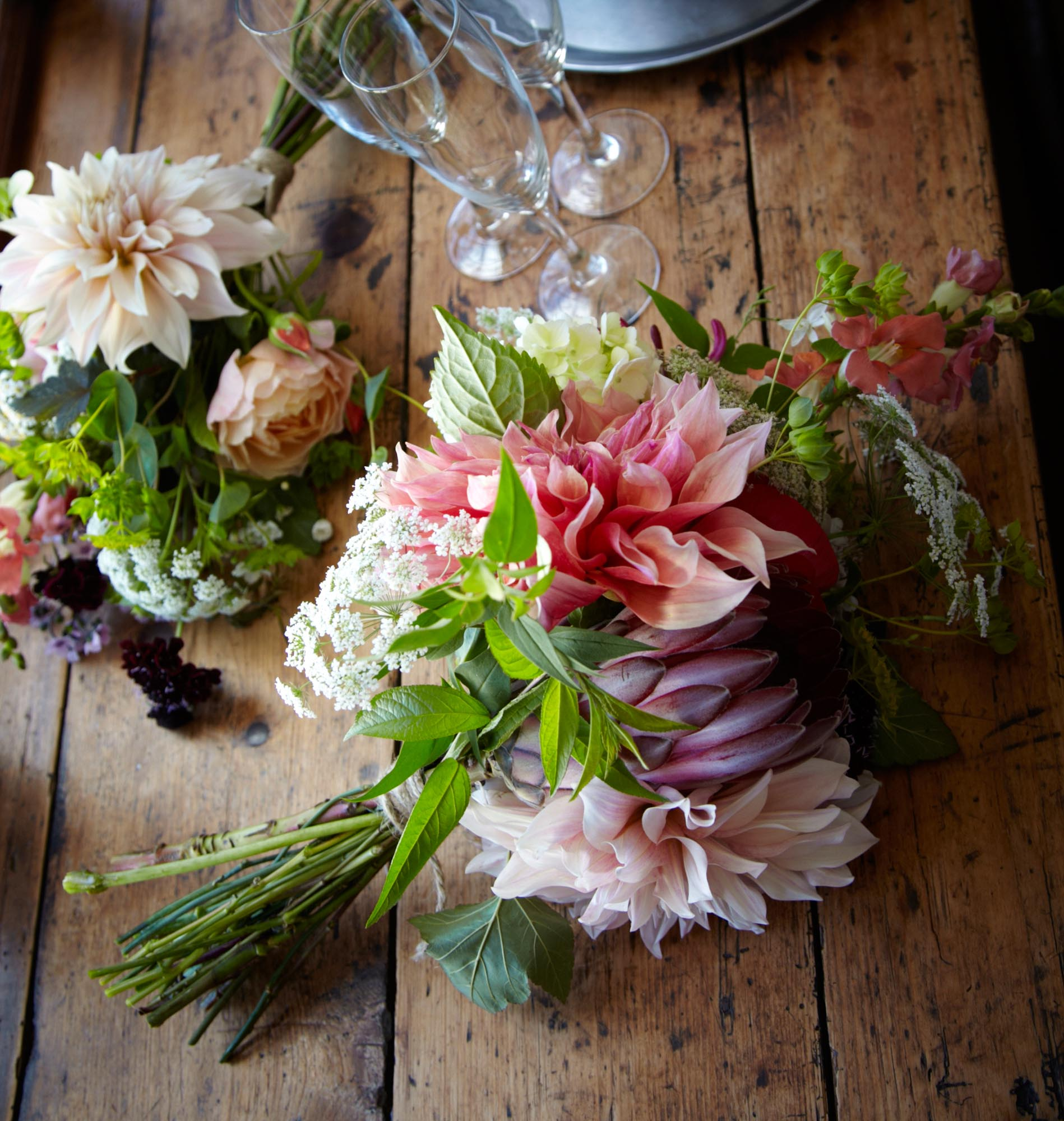 Wedding Flowers at Huntstile Farm