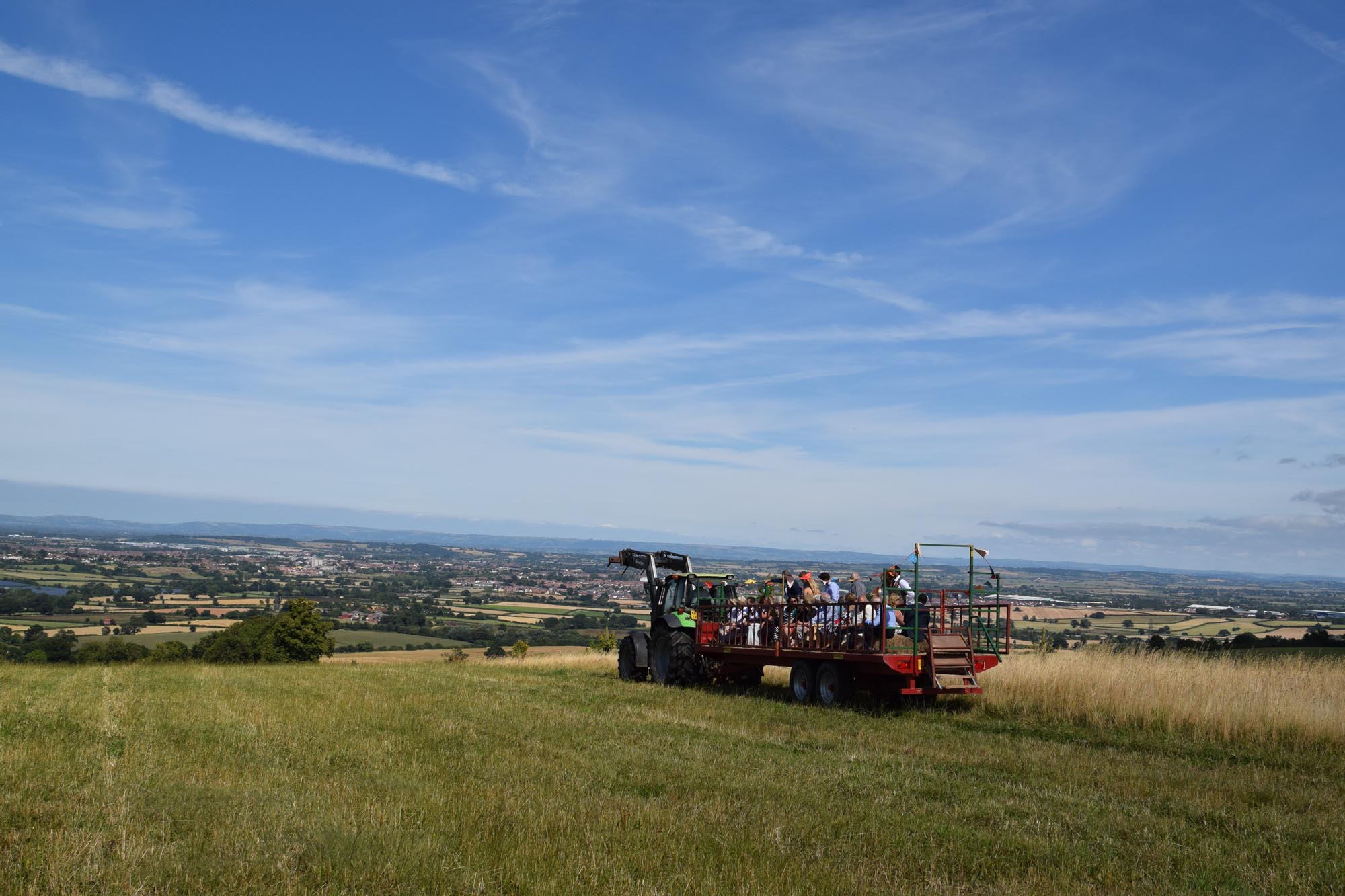 Tractor Ride at Hunstile Farm