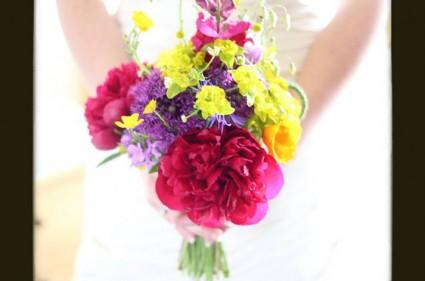 Jess & Berian Wedding Huntstile Farm - Bouquet