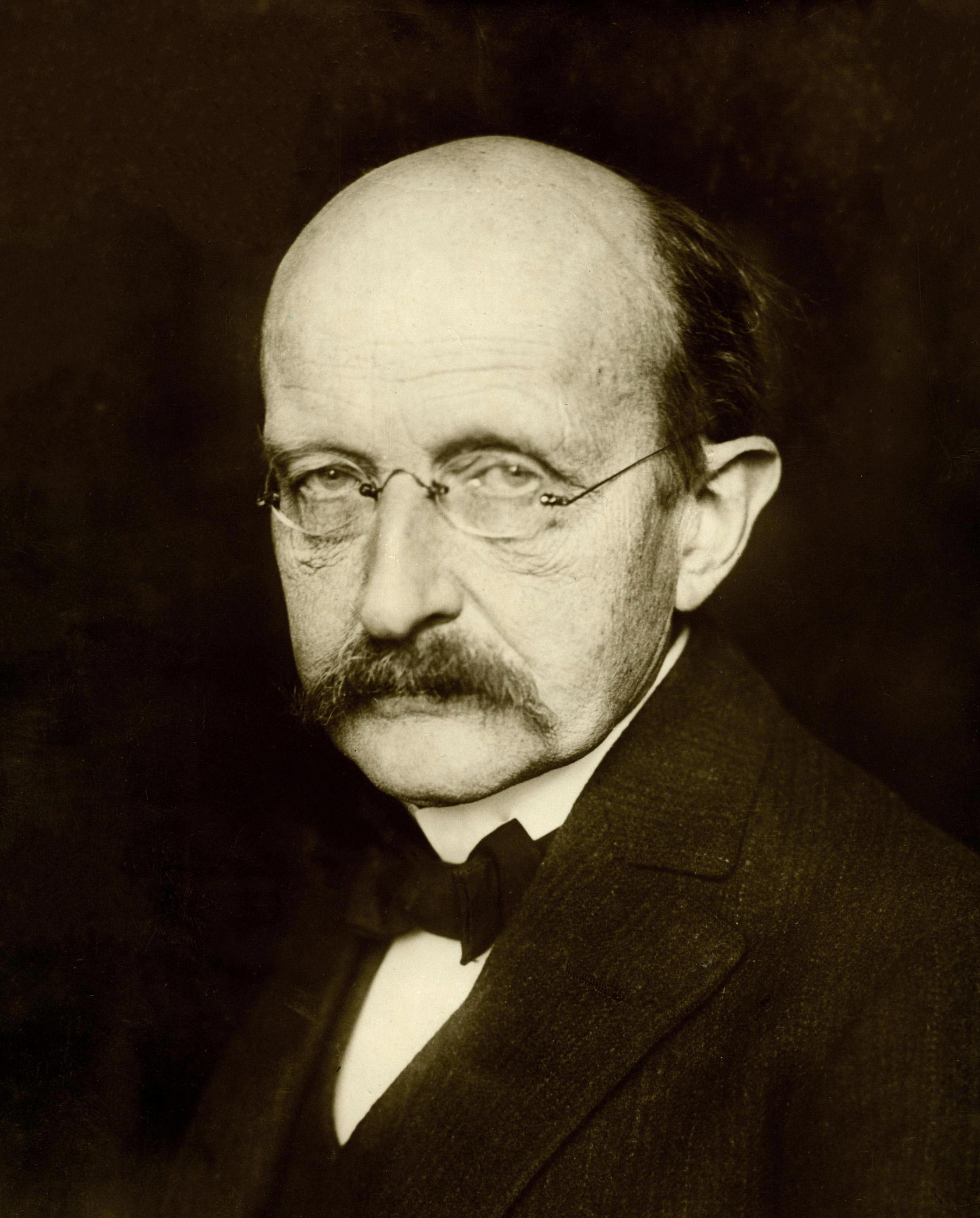 German physicist Max Planck  Max Planck Berlin, 11 January 1933.Photographer unknown