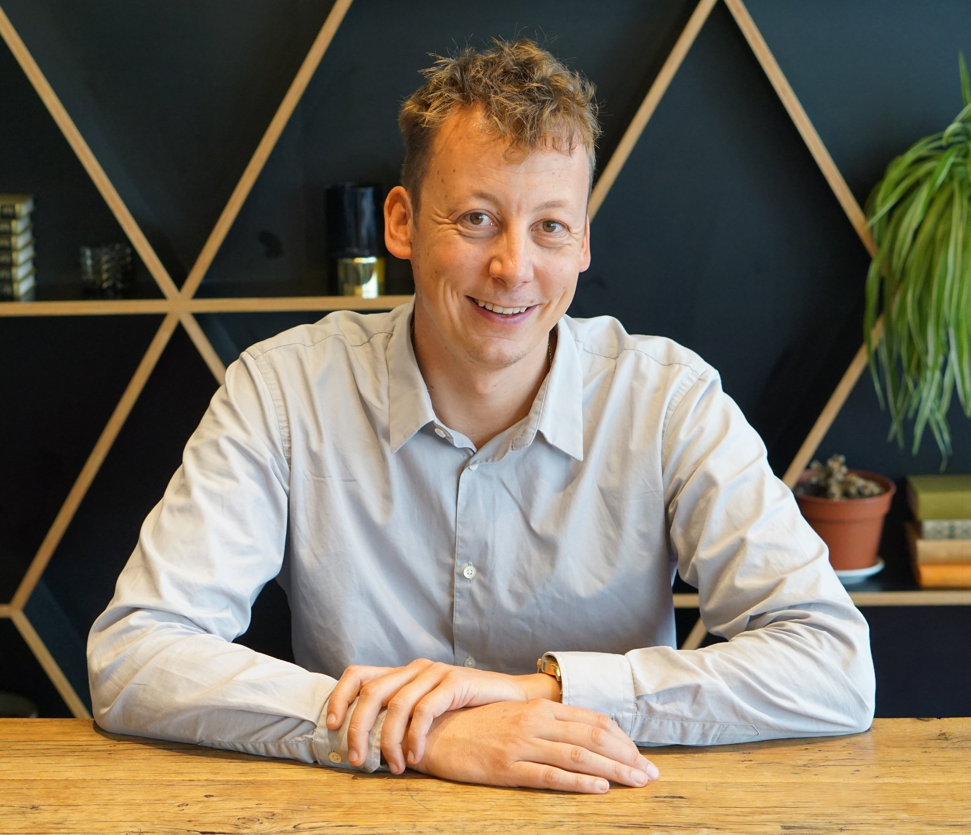 Martijn - mobile app wizard - Team: MobileRole: Product OwnerAge: 38Working at Quby for: 2 years