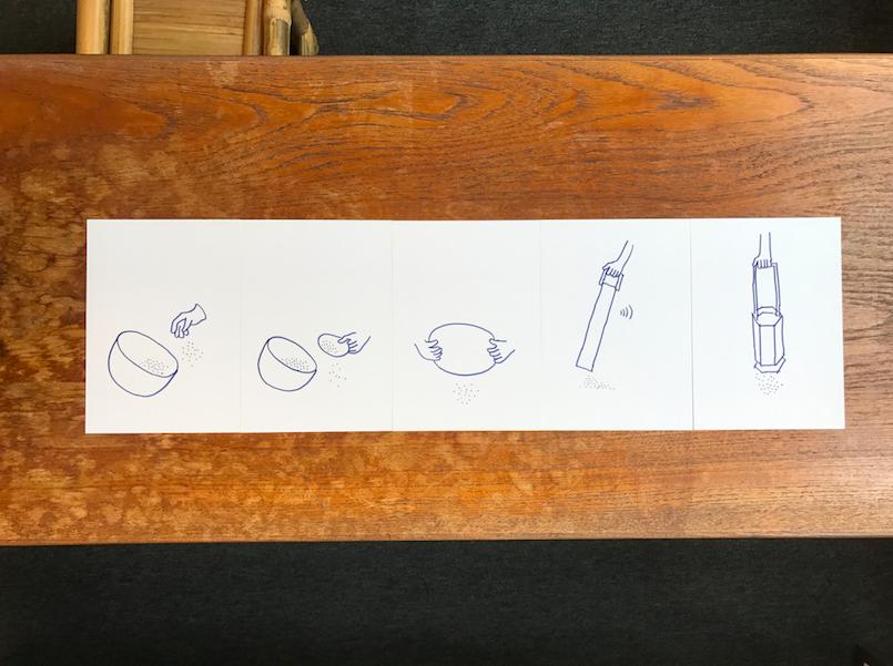 新死物系列靈感來自學生與老年人的共創意念,讓我們知道香港人對於好死(Fine Dying)的願望:方便擁抱、美麗詩意、慢慢撒和延長思念。啟民創社成員聯合死物習作設計顧問Milk Design,嘗試由人手至機械等以不同程度的介入方式,尋找不同死物物件設計的可能性。 (Photo: Enable Team)