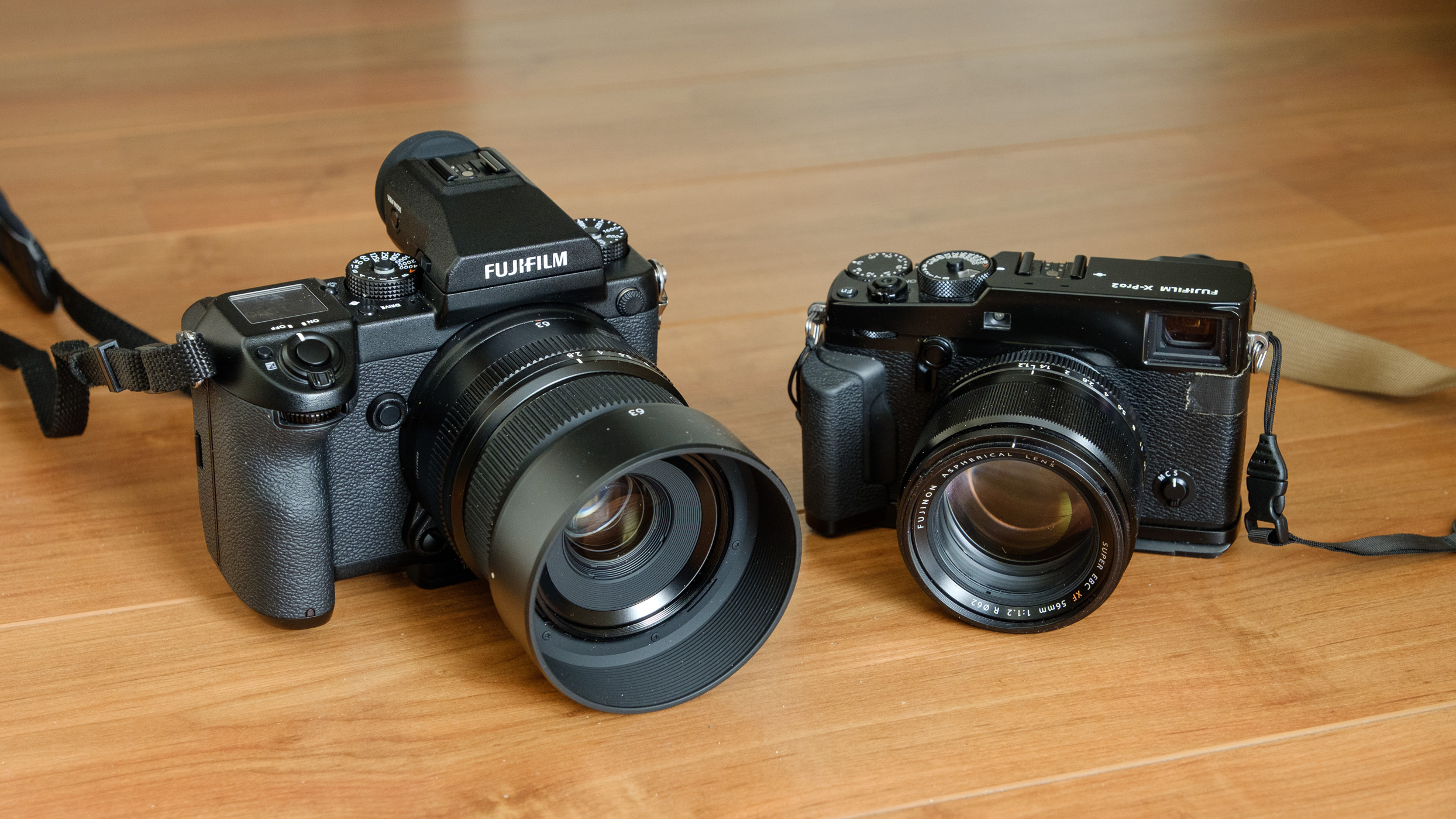 My second GFX50S with my second GF63mm together with my good old X-Pro2