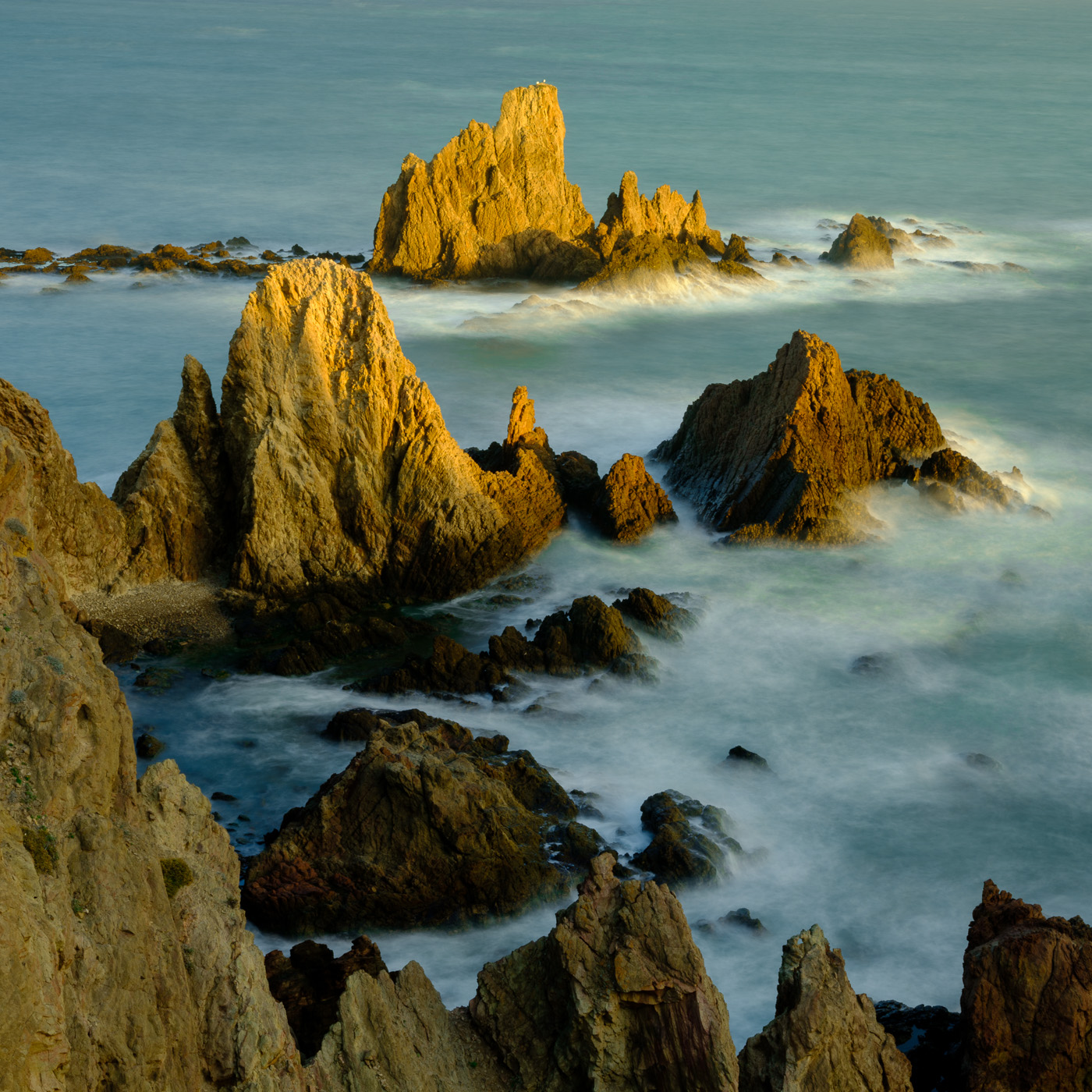 Cabo de Gata, Spain Fujifilm GFX50S (the second) with GF63mm - iso 100 - 13 seconds - f/32