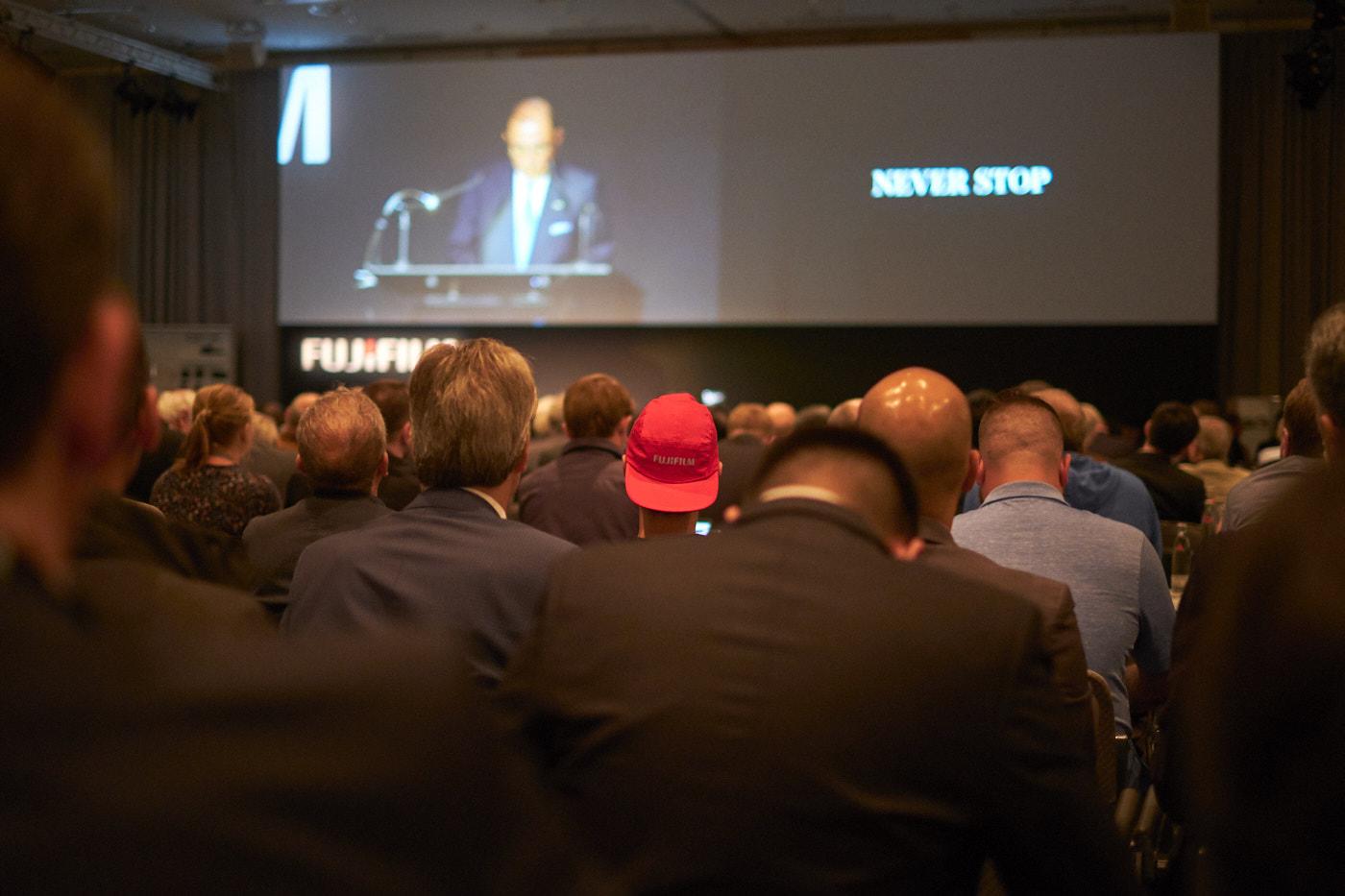 Fujifilm press conference