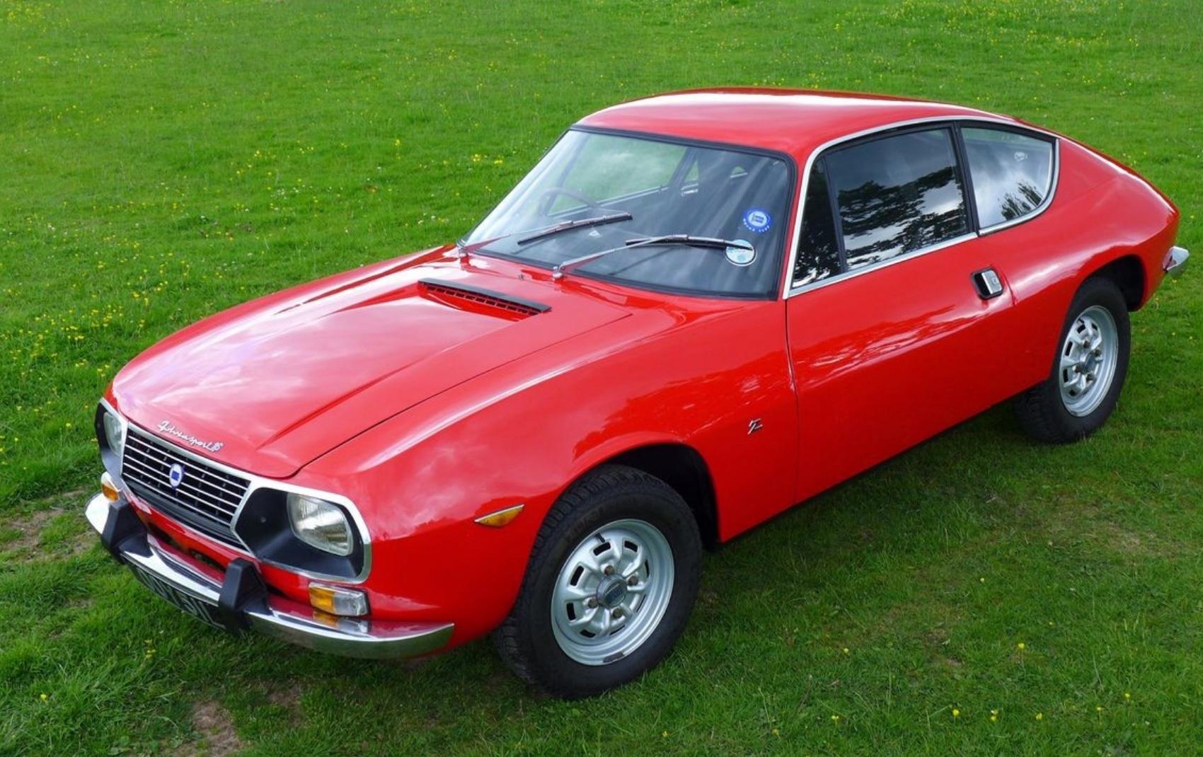 Lancia Fulvia Sport Zagato.