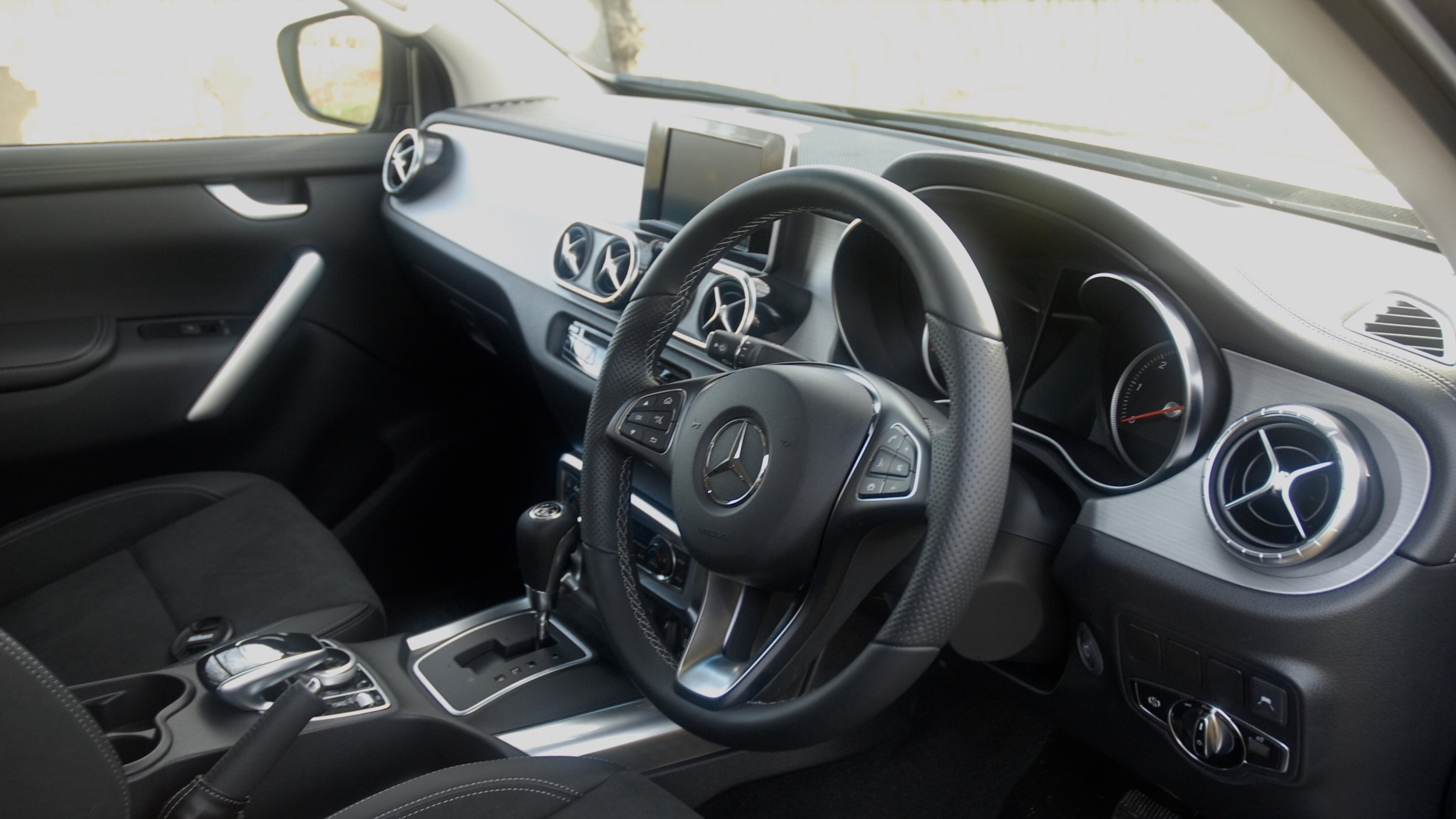 The best interior in the Pickup market. It exudes luxury.