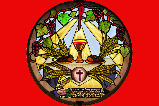 Eucharistic Ministry - Eucharistic Ministers distribute the Holy Eucharist to fellow parishioners at mass and at liturgical events as well as bring the Holy Eucharist to those who are unable to attend mass due to age or infirmity.