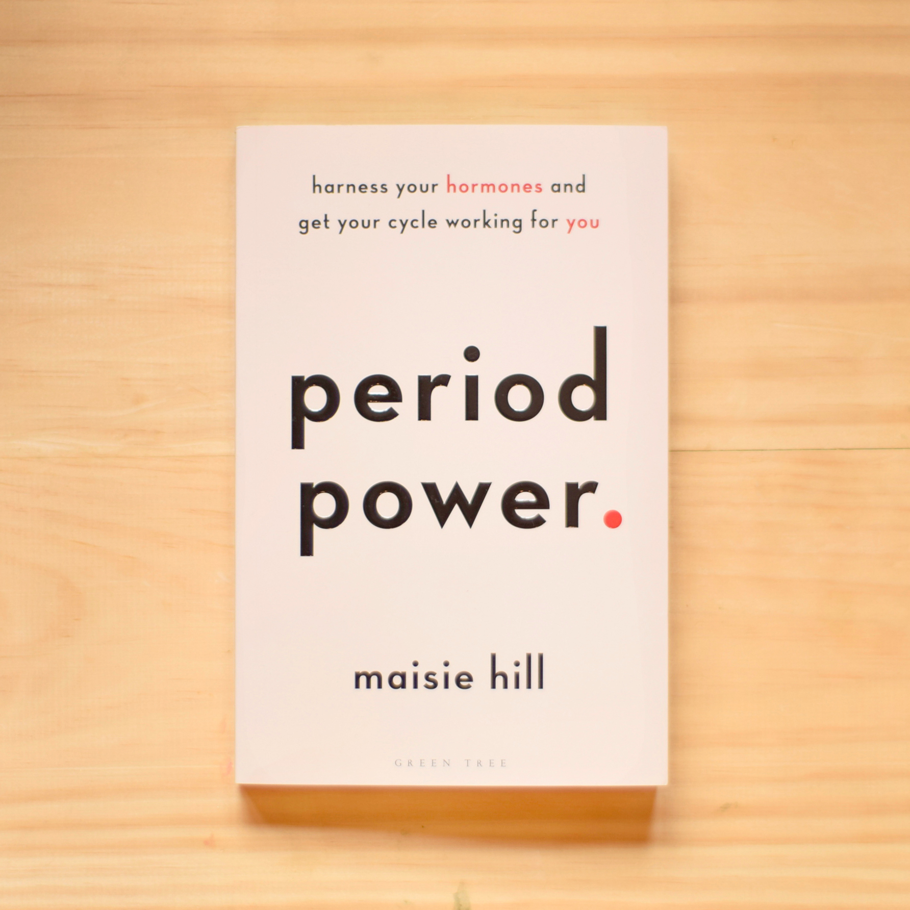 #2: Period Power - By Maisie HillMargate's very own Maisie Hill has provided women with a bible on understanding the menstrual cycle and how it affects daily life, the response to which has been unequivocally positive. It goes to show how much the world needed this, how mad it is that we're only just learning about this natural cycle, only just giving hormonal fluctuations the same importance we give to our sleep, diet, etc.