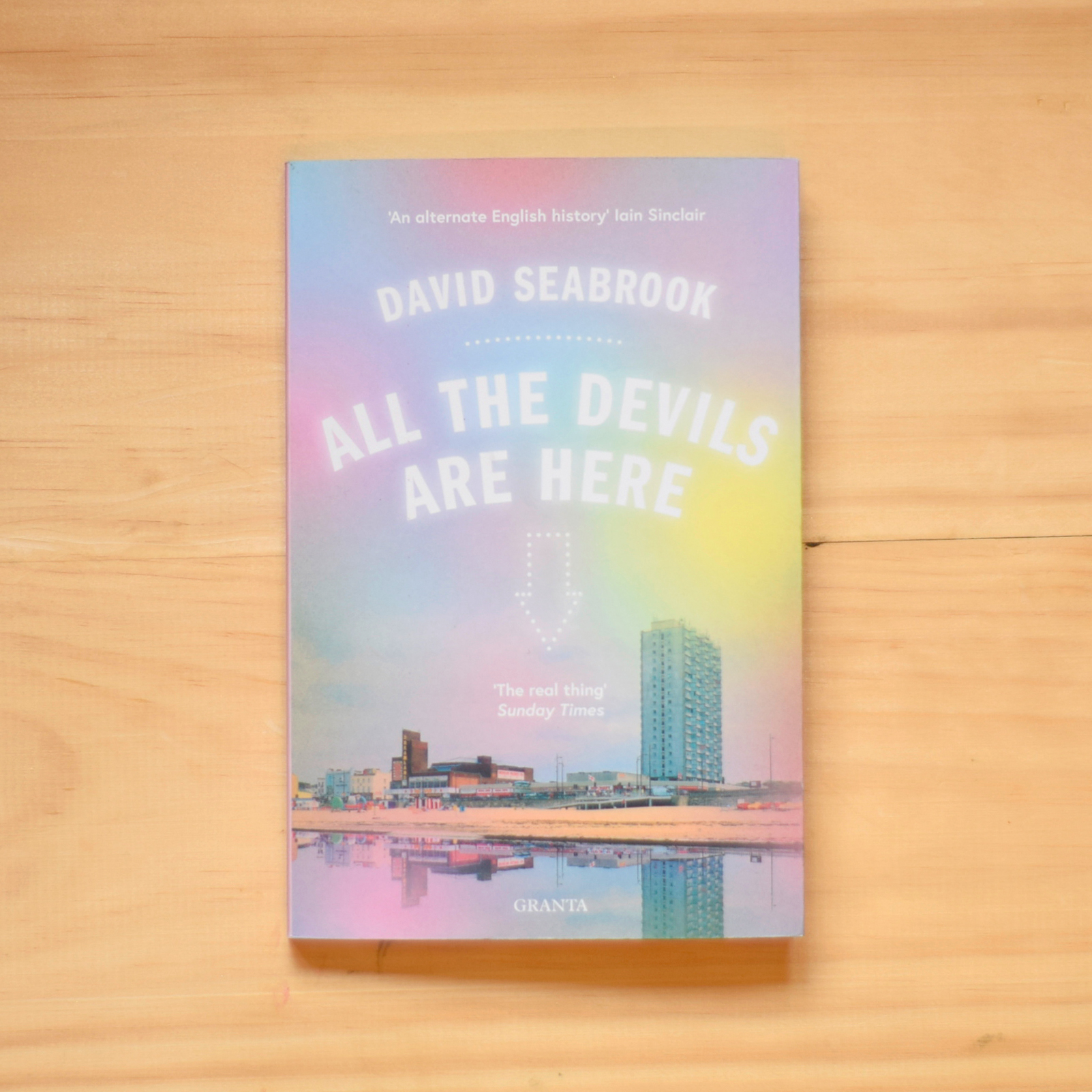 #3: All the Devils Are Here - By David SeabrookDavid Seabrook writes about Margate and its neighbouring towns, of its history and its various phases of popularity or infamy, as literary figures pass through like ghosts: Eliot, Dickens, Buchan, Dudd, to name a few. This book was published in 2002 but it has a quality of real timelessness, it could well have been written in the 18th or 19th century, or perhaps in fifty years from now. It's gritty, it's odd, and I absolutely loved it.