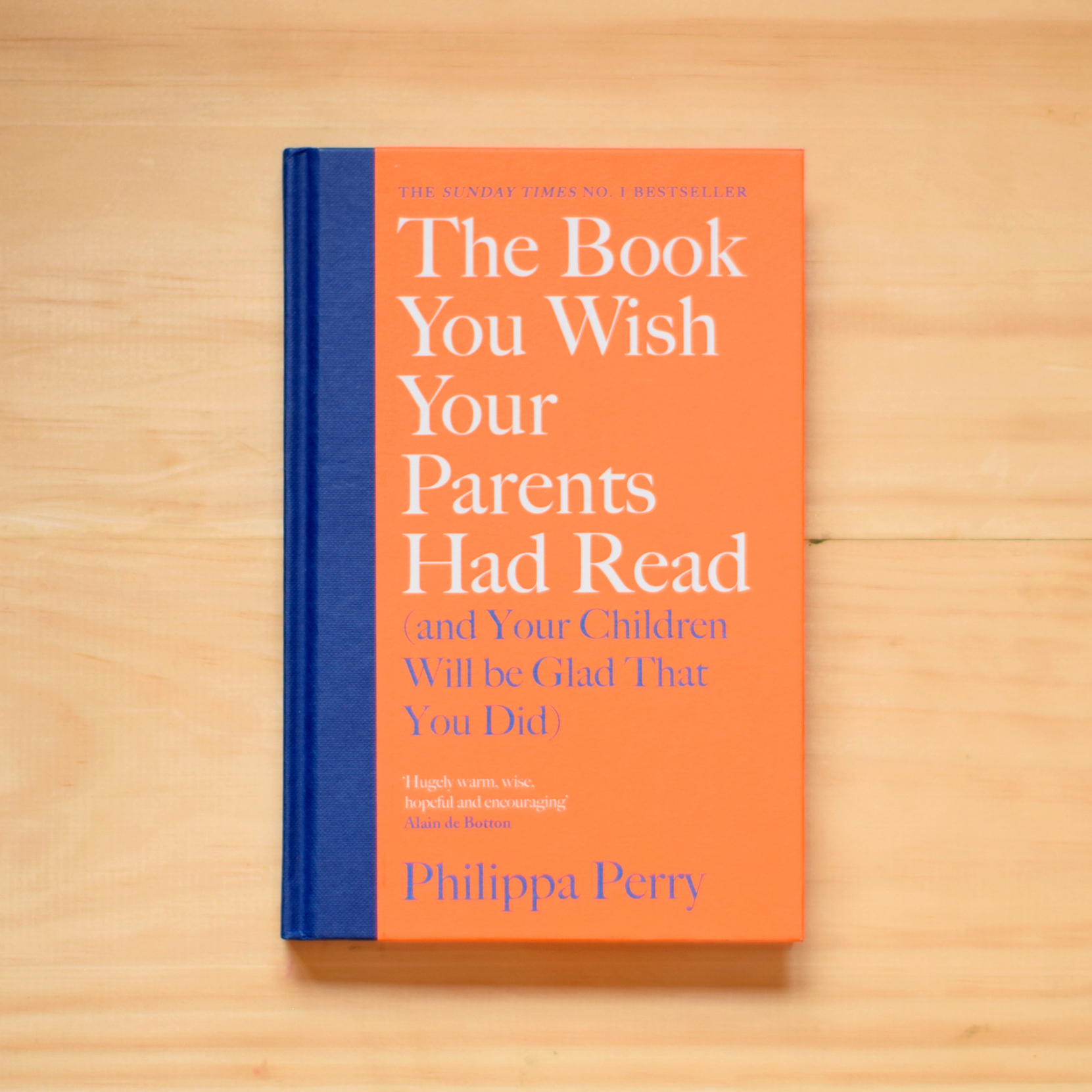 #10: The Book You Wish Your Parents Had Read (and Your Children Will Be Glad That You Did) - By Philippa PerryWith so many young families living in Thanet, it's no surprise that this book it up there in The Margate Bookshop bestsellers! Parenting isn't easy, but psychotherapist and agony aunt Philippa Perry offers honest reflections and advice on the subject to help create good parent-child relationships.