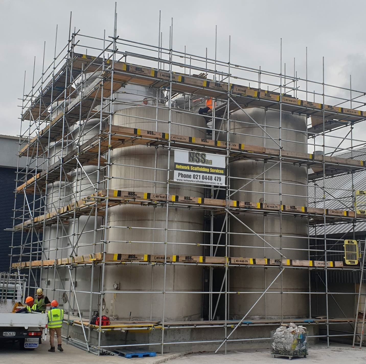geo thermal scaffold industry in hawks bay