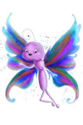 Belinda   Belinda is a beautiful butterfly who makes friends with Bubble and Squeek and helps them see how much they can help their friends at Prickly Hedge survive by telling humans how to look after them.