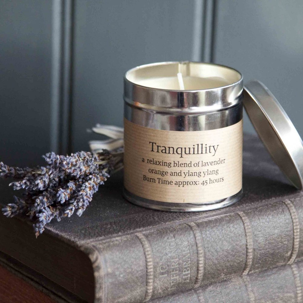"""St Eval Candle Company - """"Love is like a beautiful flower which I may not touch, but whose fragrance makes the garden a place of delight just the same"""" - Helen Keller"""