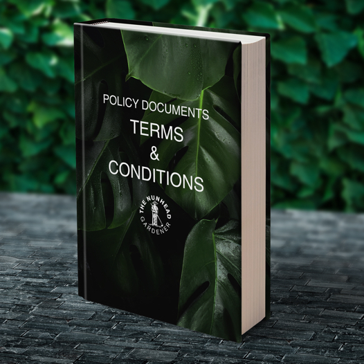 TERMS & CONDITIONS - Policy Documents