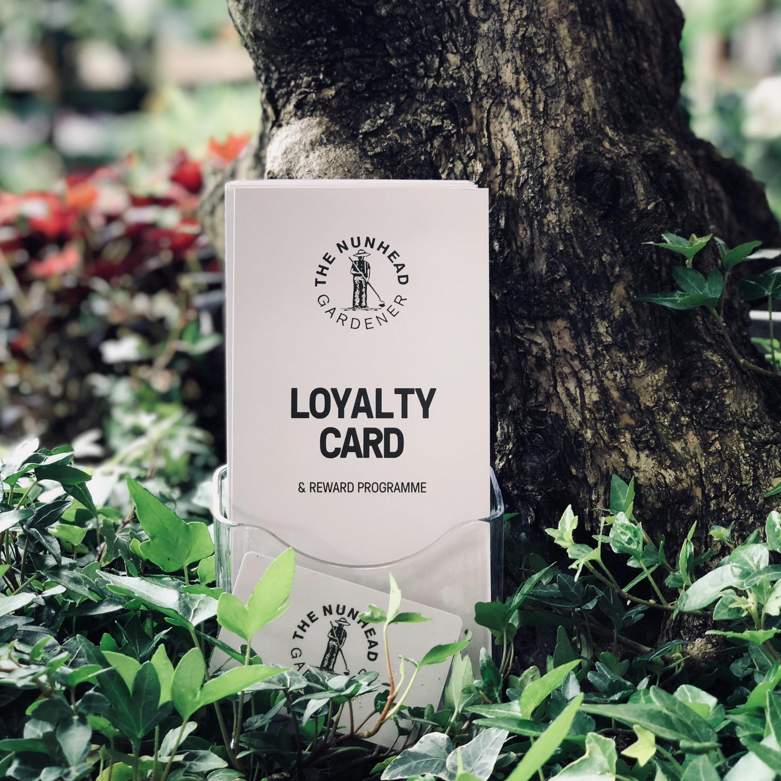 Loyalty Card - & REWARD PROGRAMME