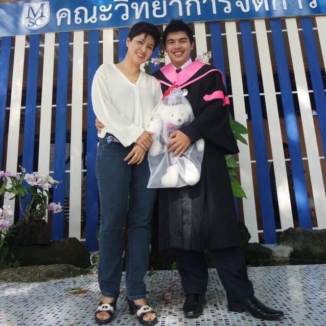 "Tanapon Sittiponcharoen   Scholl/University: Surattani Rajabhat University  Subject:   ""Thank you from my heart.""    **GRADUATED!!**"