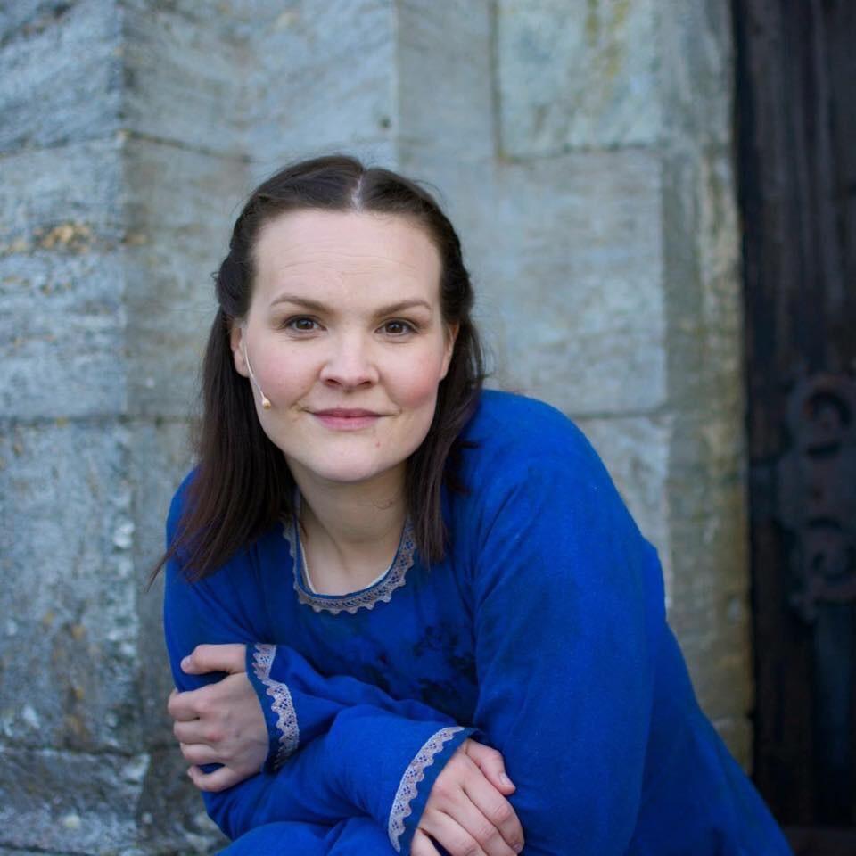 2015: Oda Alisøy i rolla som Borni. Foto: Sveinung Brandsøy.