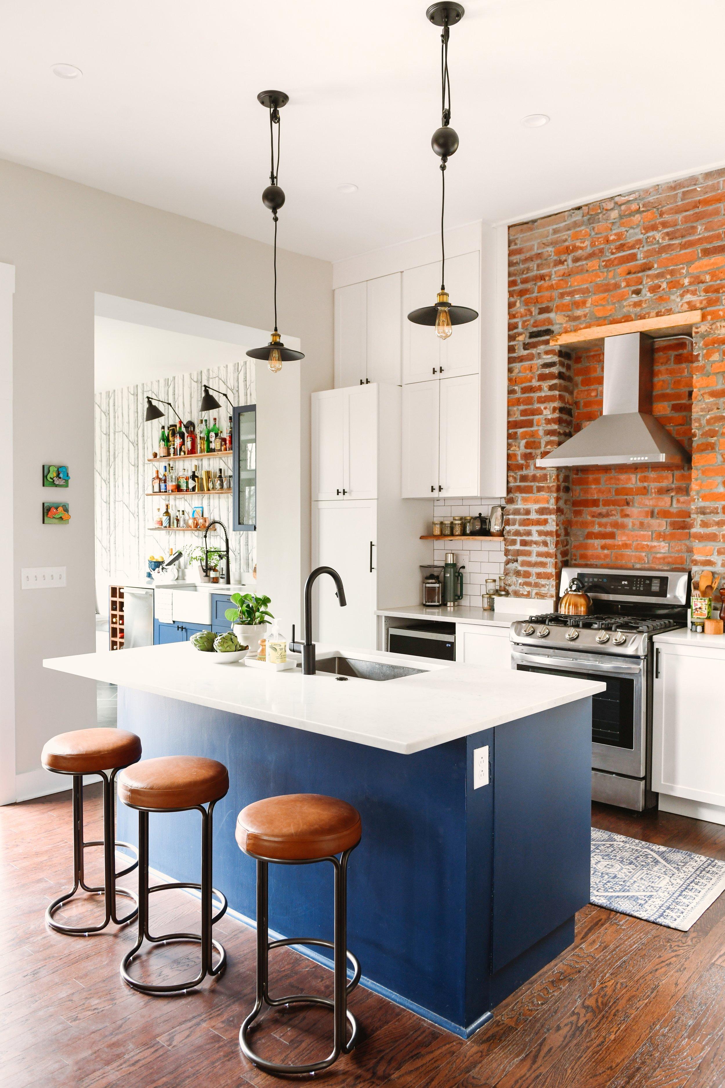 Katy Popple Design Kitchen - Leather Stools 3.jpeg