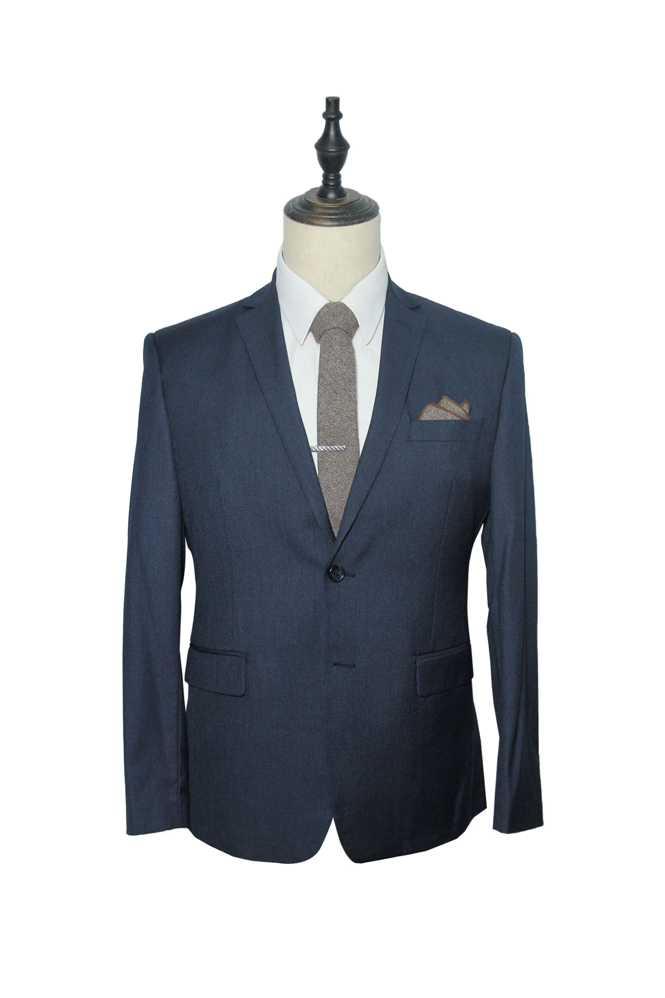 Finest Charcoal 2-Piece Suit
