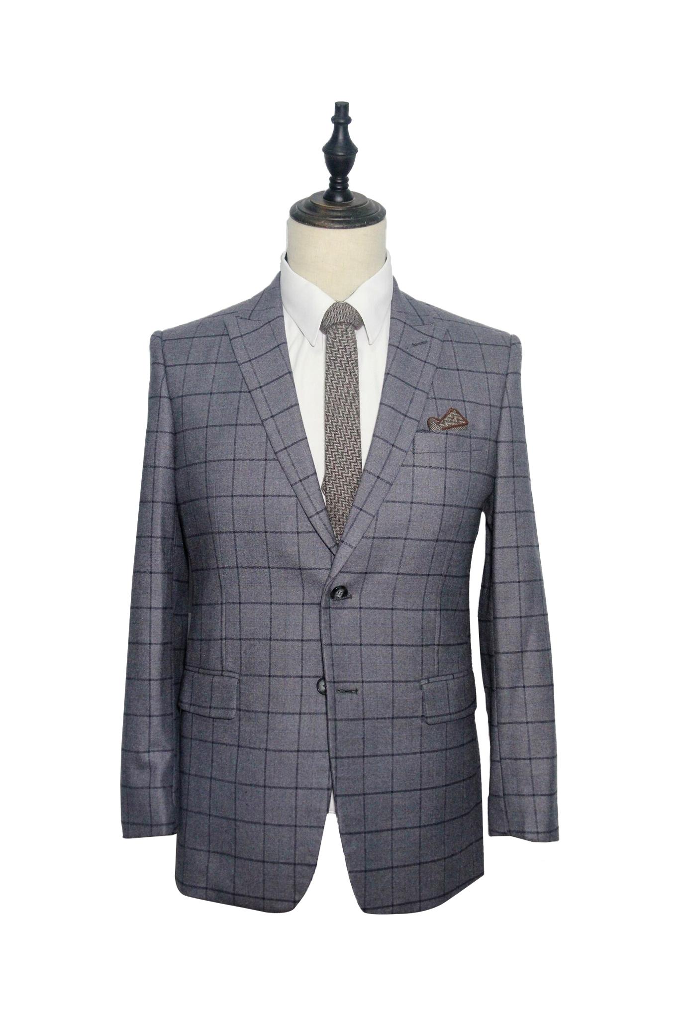 Classic Grey with Black Windowpane Suit (F234-235).jpg
