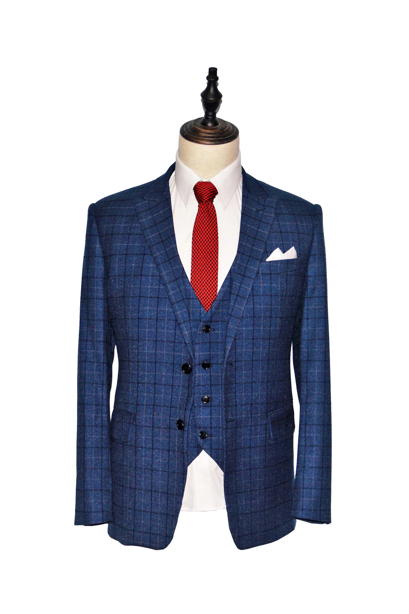Classic Oxford Blue Windowpane Suit (F236-235).jpg