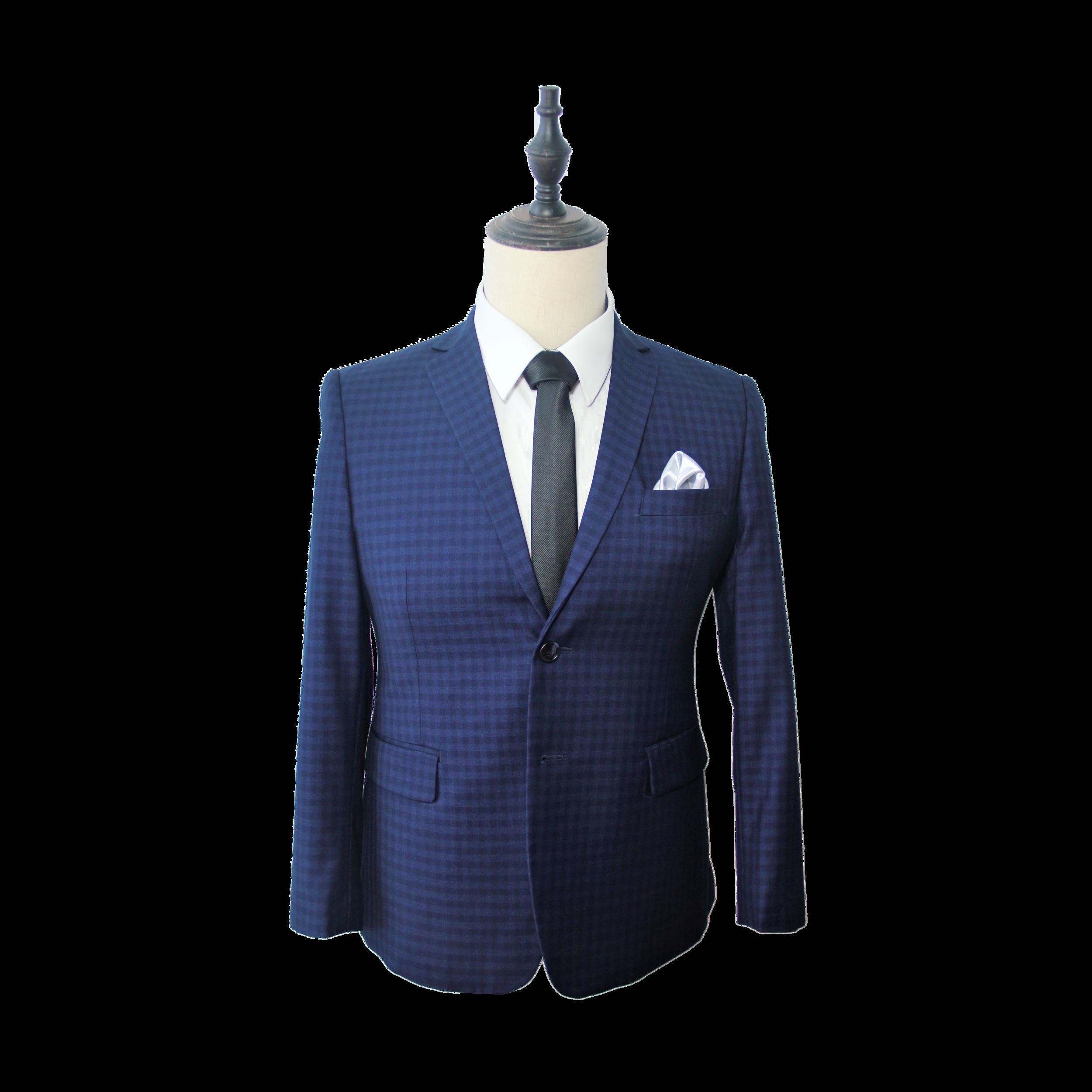 Premium Slate Blue Gingham Suit (LX832416).jpg