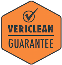 Vericlean guarantee image