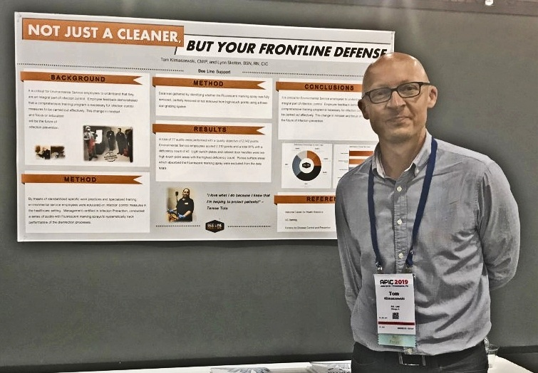 Bee Line Support presents at the  APIC 2019 Conference