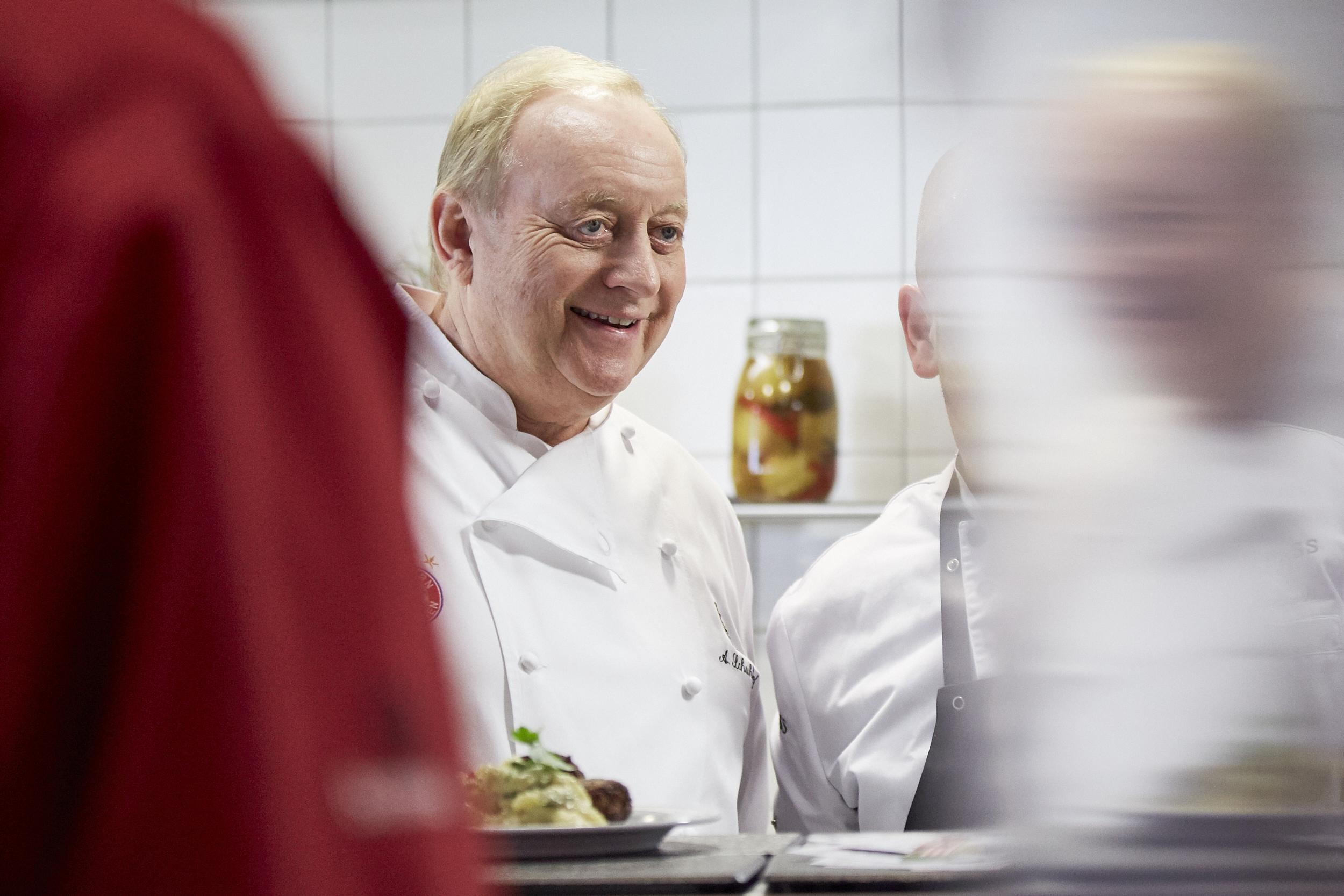 Alfons Schuhbeck in der Nokia Kantine München - Koch-Event mit Alfons Schuhbeck