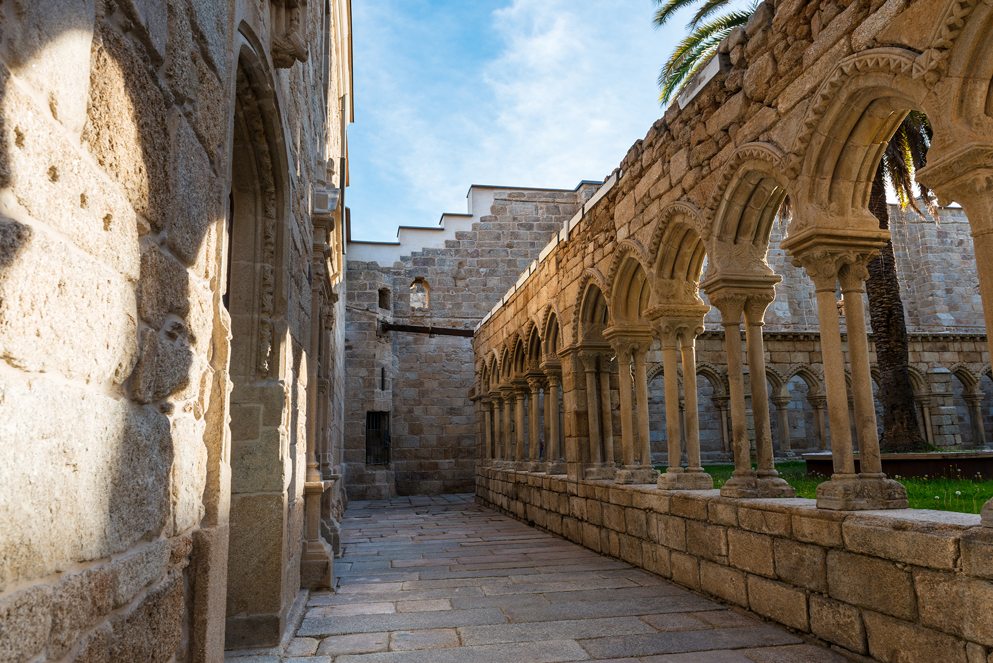 Remains of St Francis Cloister in Ourense