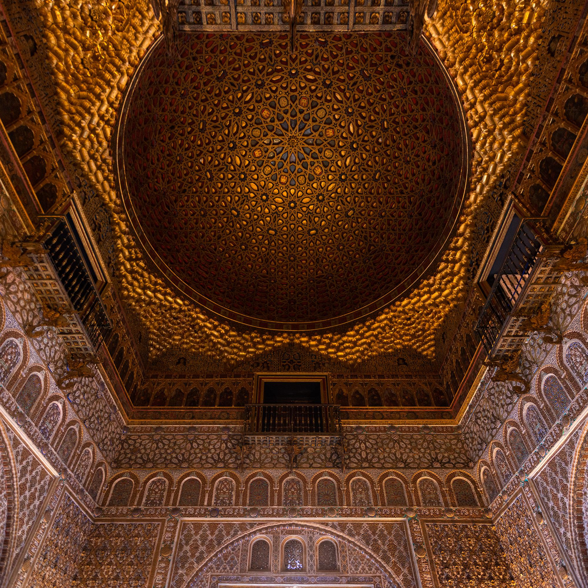 Arabic architecture in the Alcázar