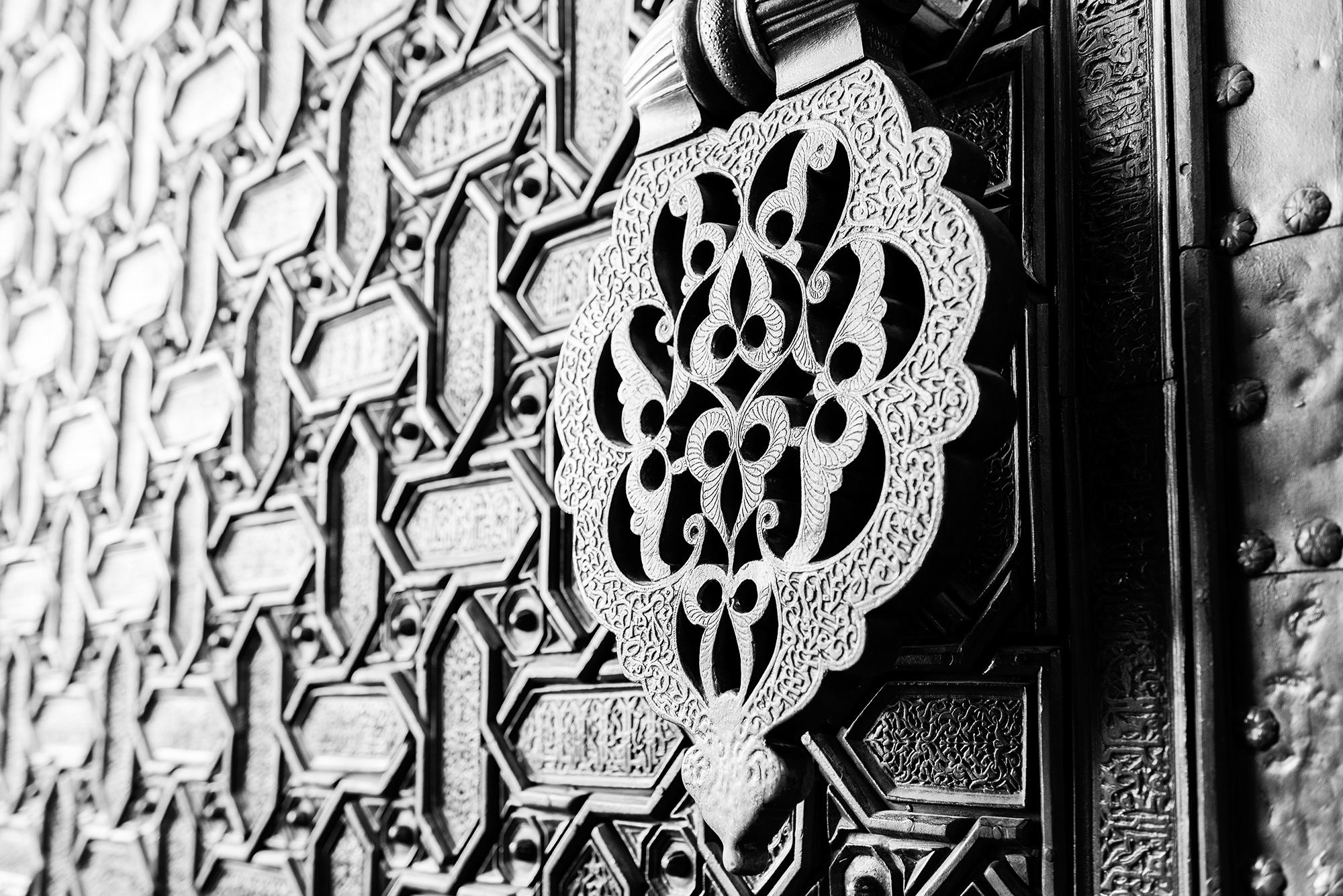 Door knocker in the Puerta del Perdón